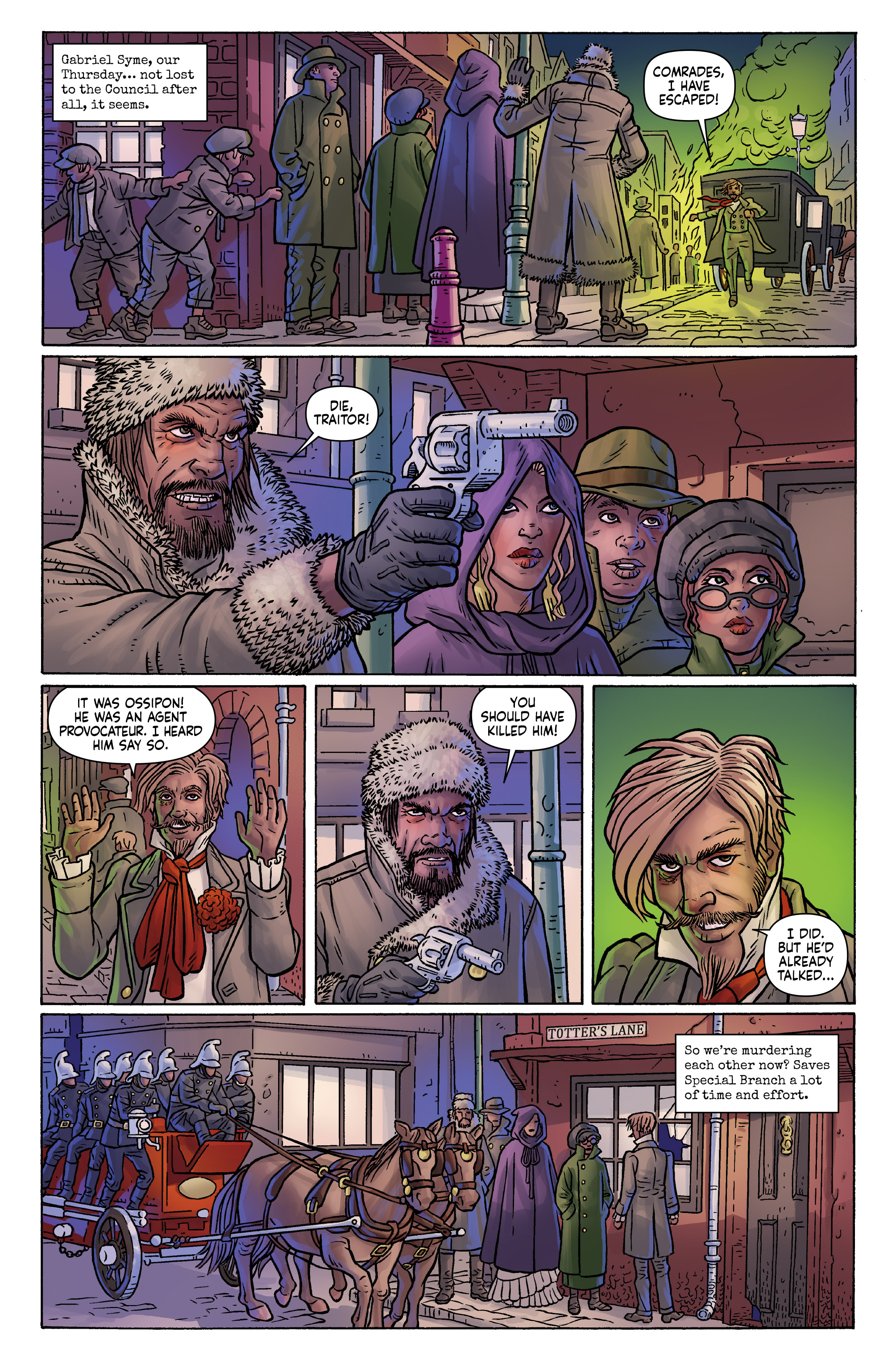 Read online Anno Dracula comic -  Issue #3 - 13