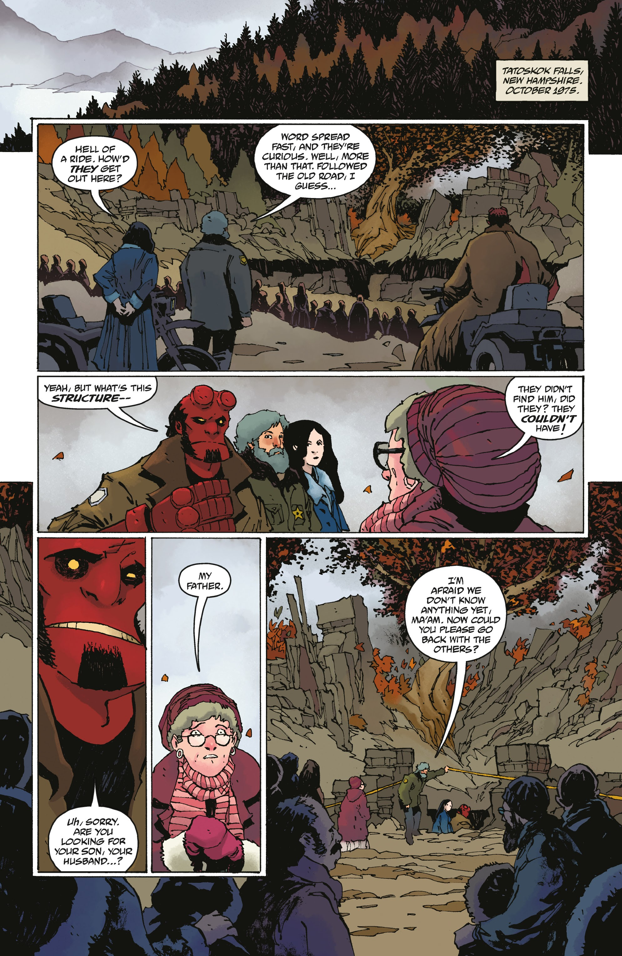 Hellboy and the B.P.R.D.: Saturn Returns 1 Page 3