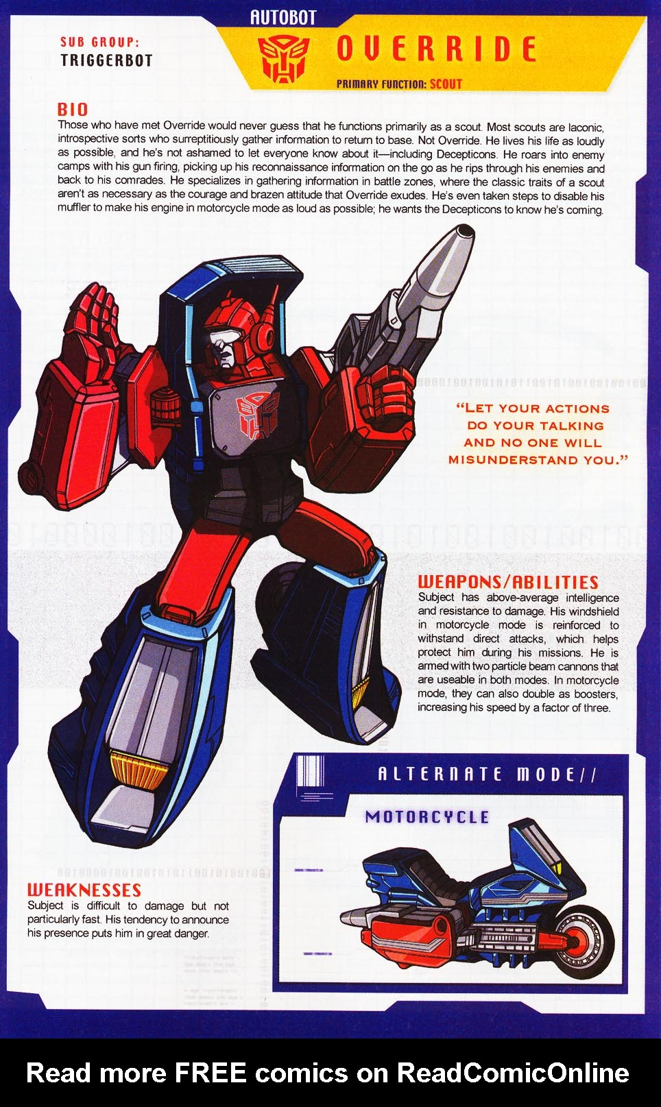 Read online Transformers: More than Meets the Eye comic -  Issue #4 - 33