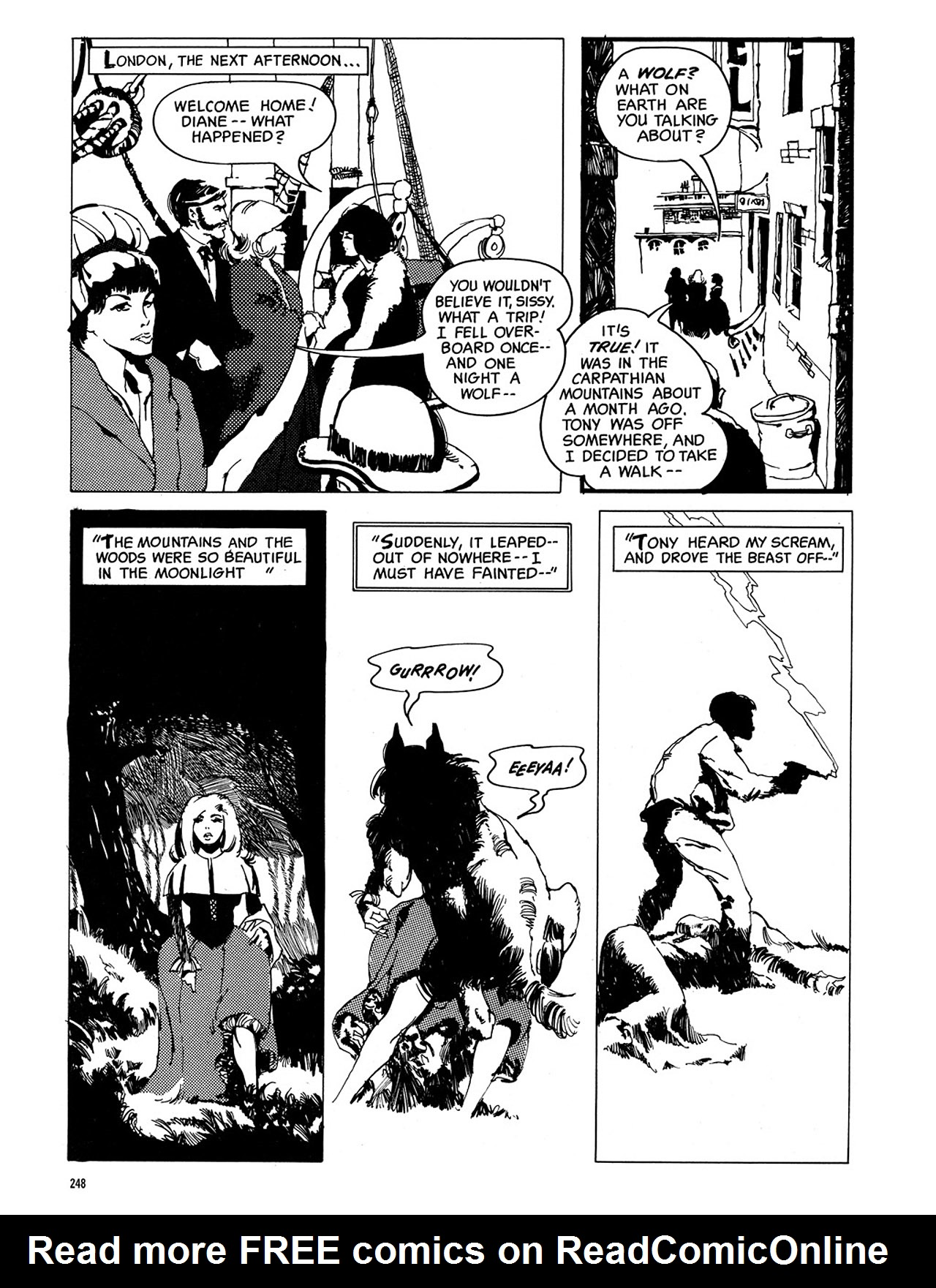 Read online Eerie Archives comic -  Issue # TPB 3 - 249