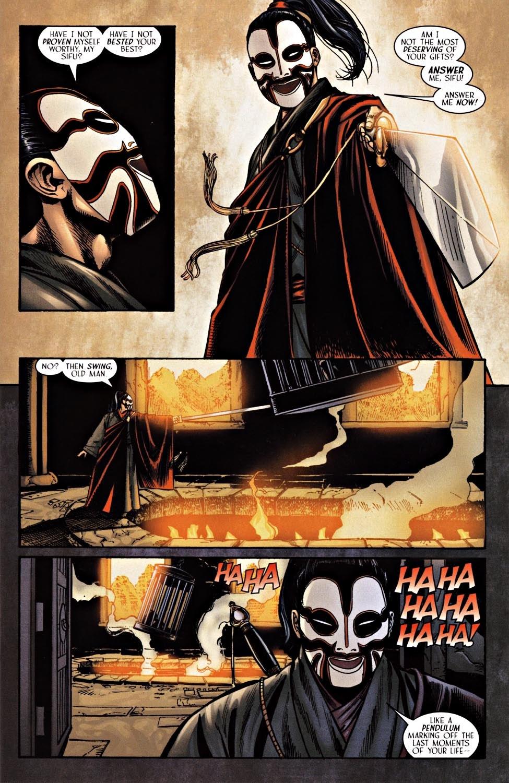 Read online Silken Ghost comic -  Issue #2 - 6
