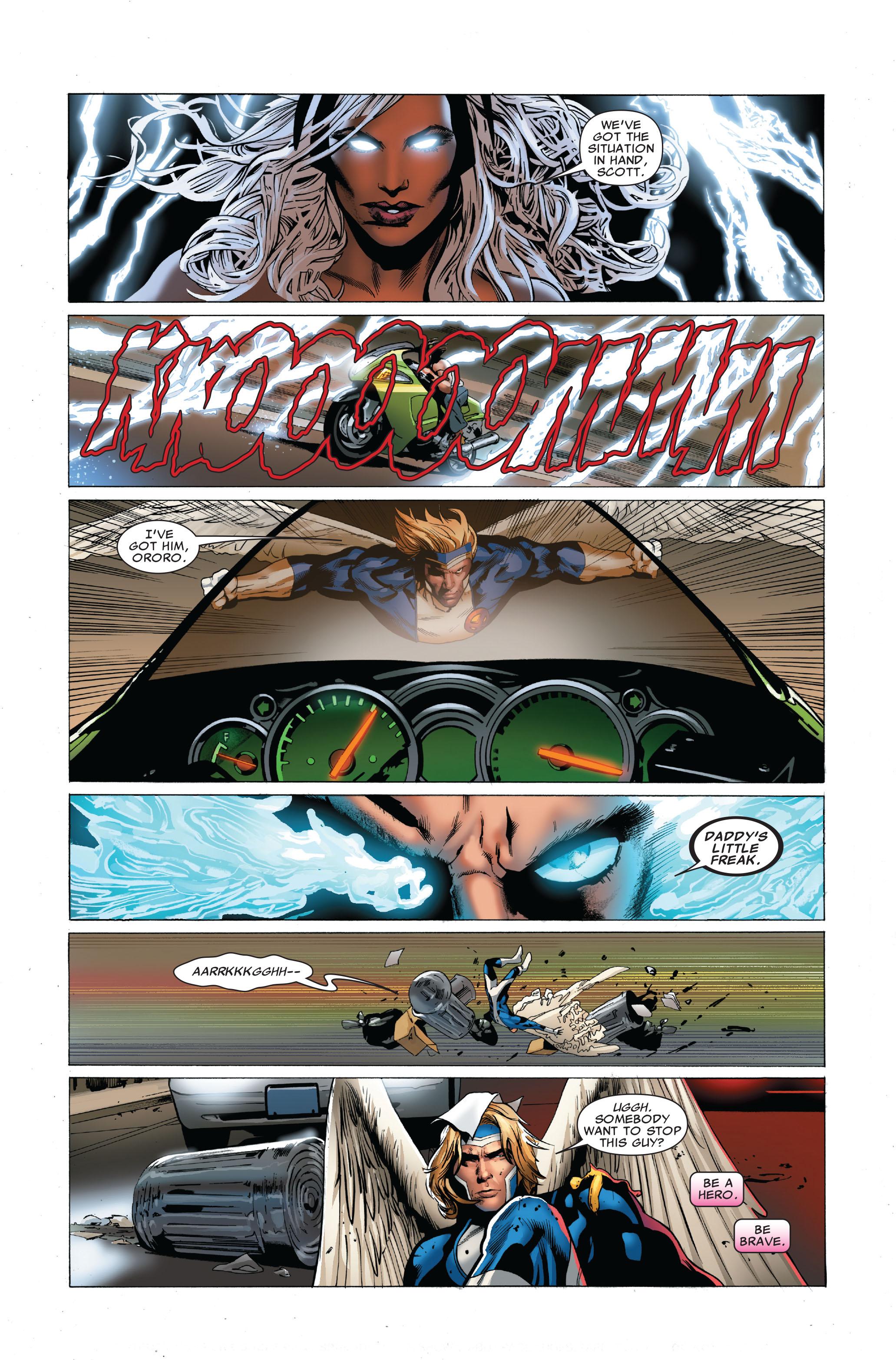 Read online Uncanny X-Men (1963) comic -  Issue #503 - 8