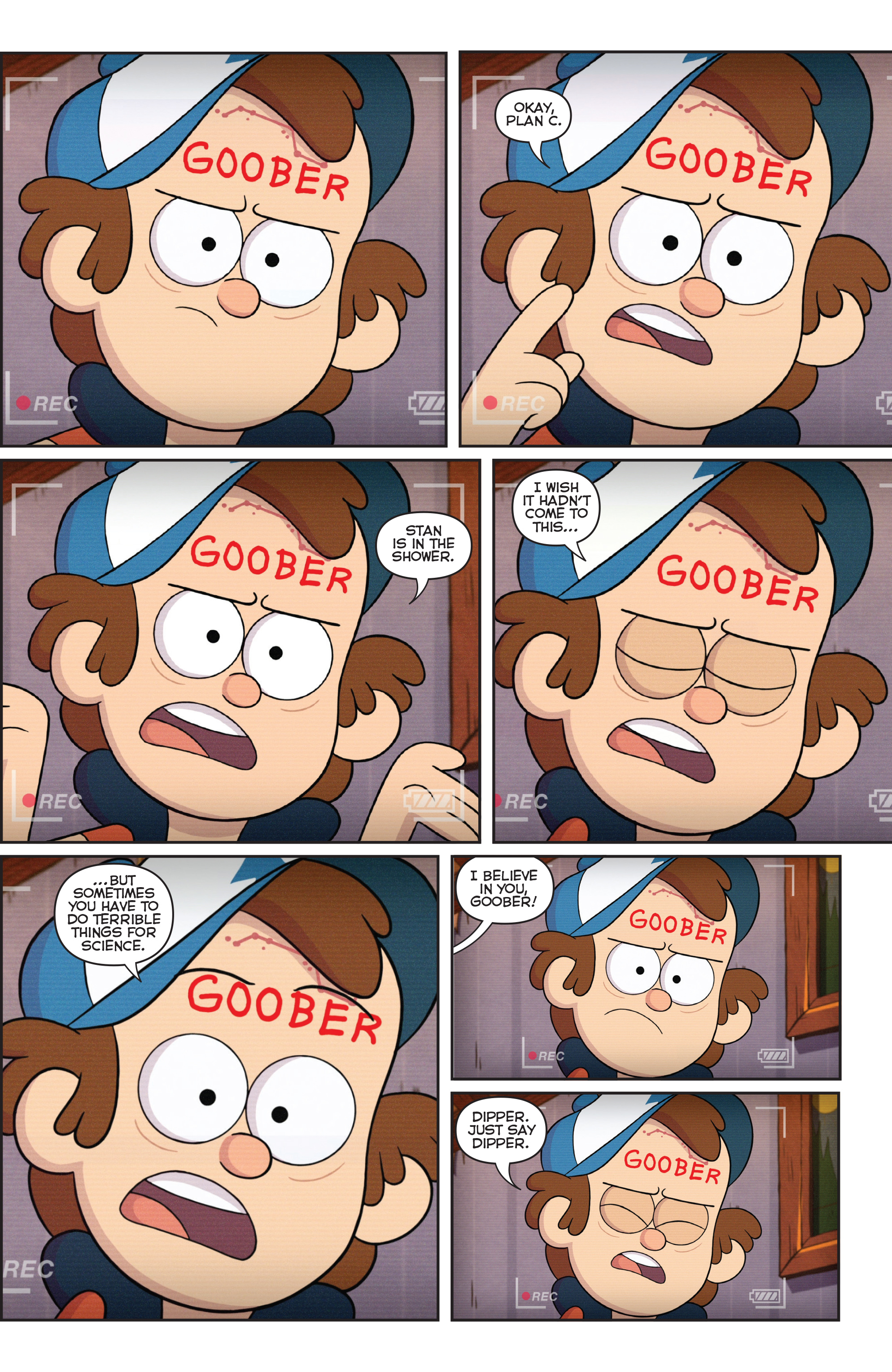 Read online Disney Gravity Falls Shorts Cinestory Comic comic -  Issue #2 - 7