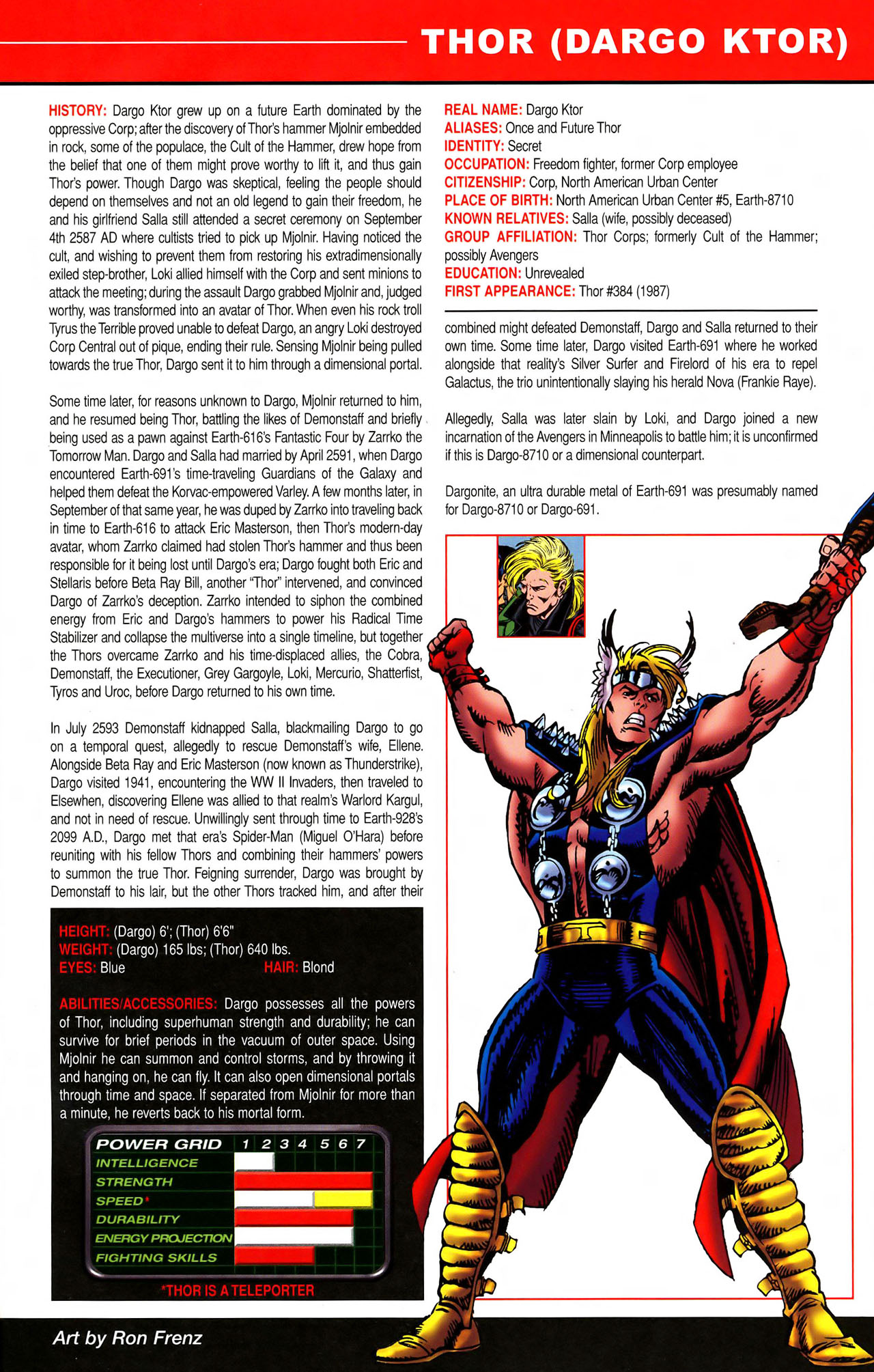 Read online All-New Official Handbook of the Marvel Universe A to Z comic -  Issue #11 - 33