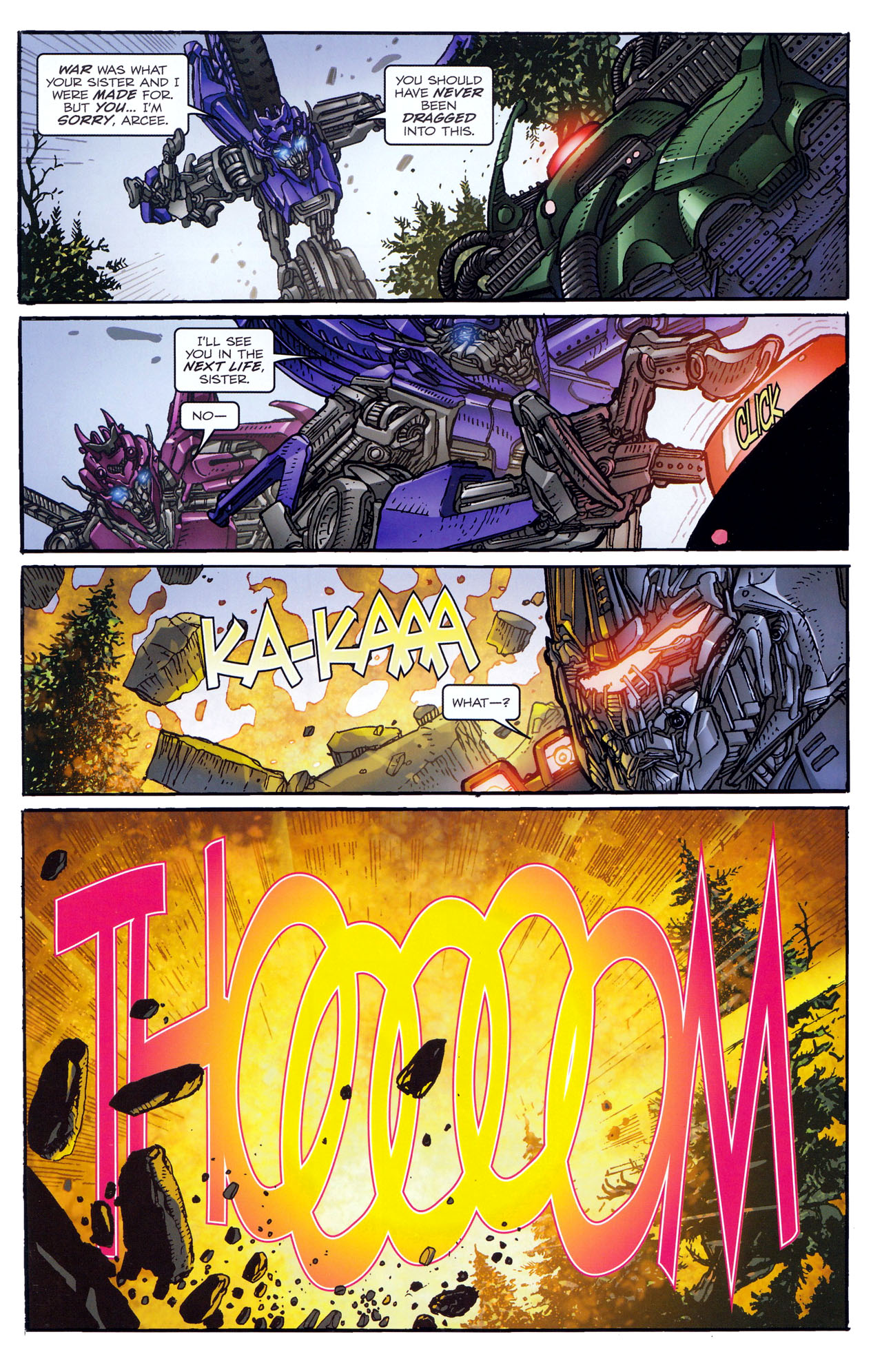 Read online Transformers: Dark of the Moon Rising Storm comic -  Issue #4 - 15