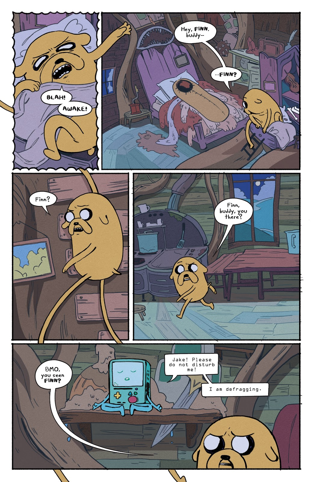 Read online Adventure Time: Beginning of the End comic -  Issue # _TPB - 10