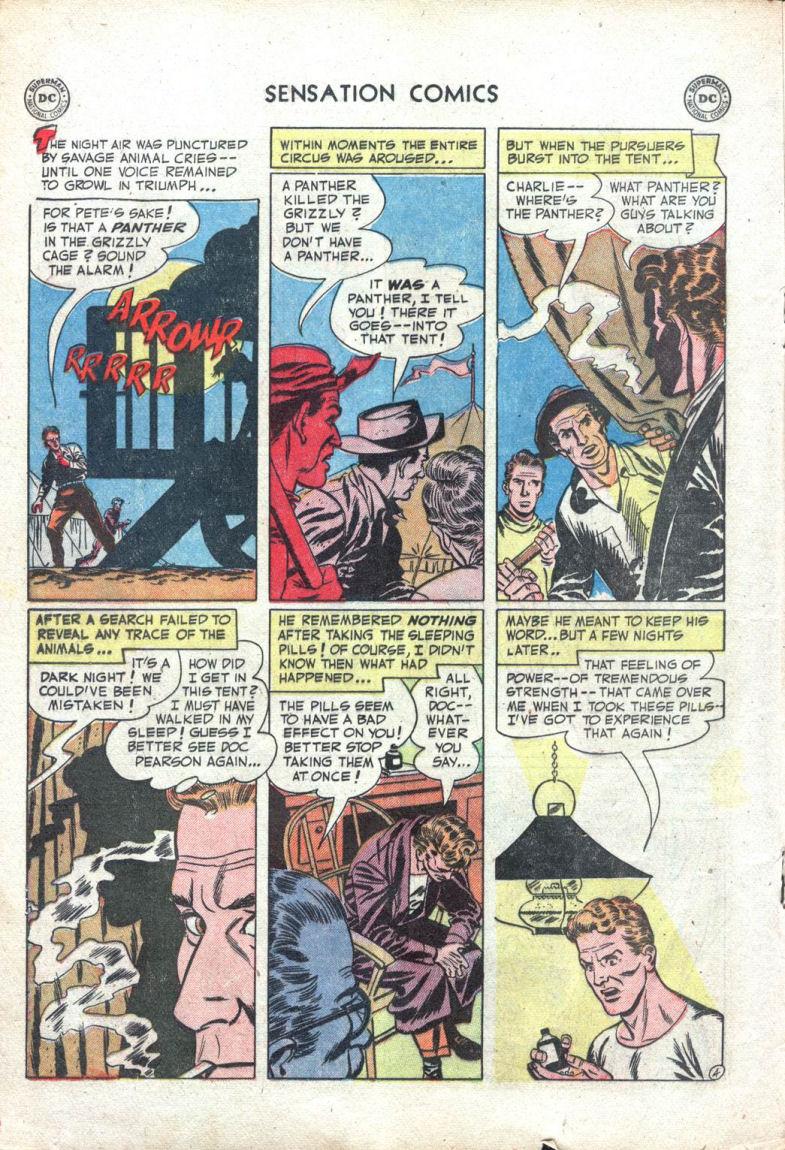Read online Sensation (Mystery) Comics comic -  Issue #109 - 16