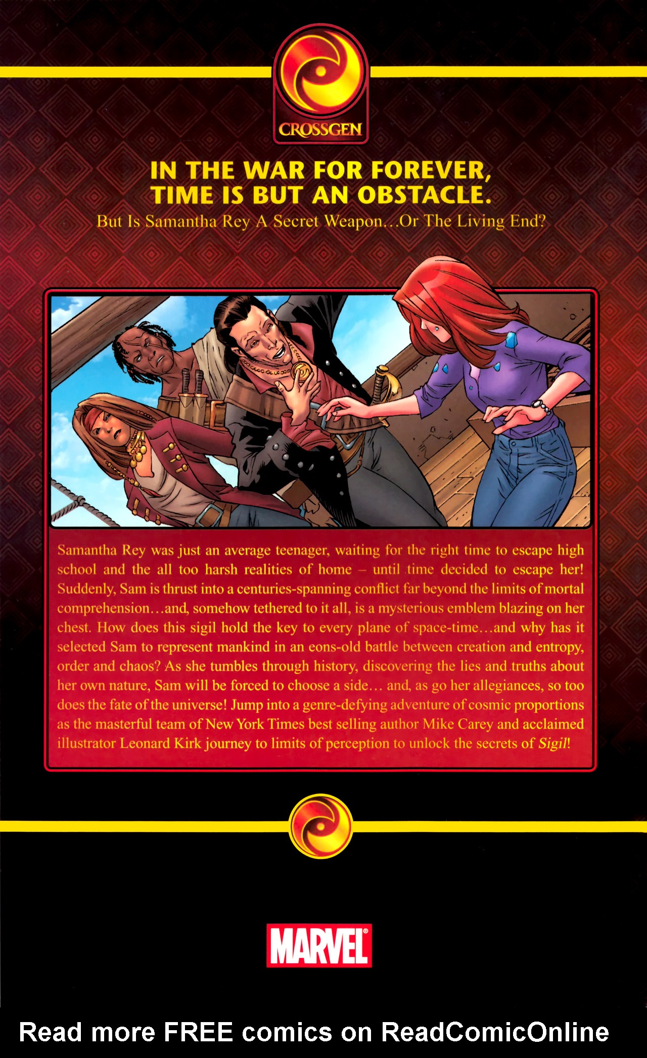 Read online Sigil (2011) comic -  Issue #4 - 22