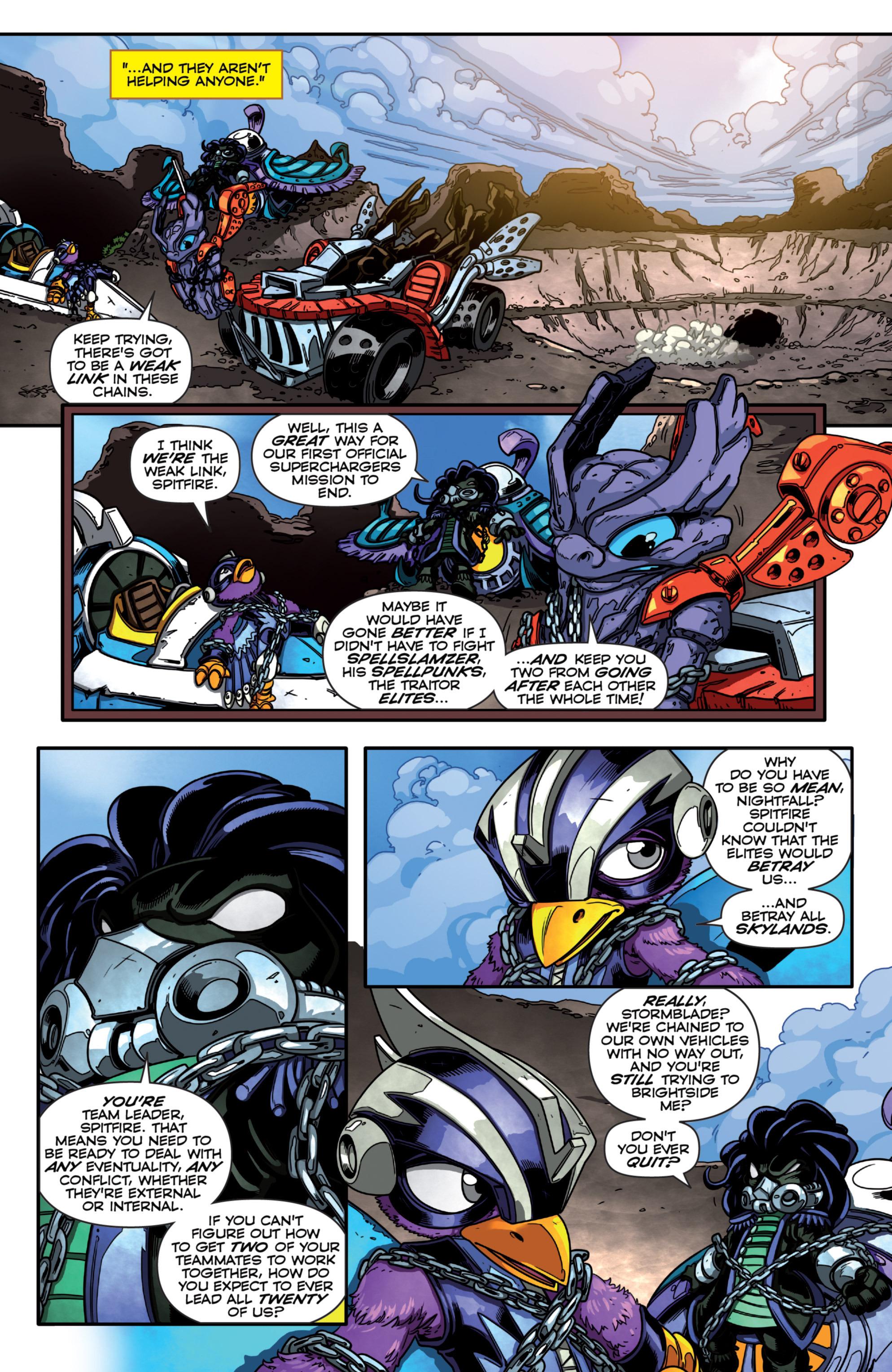 Read online Skylanders Superchargers comic -  Issue #3 - 5