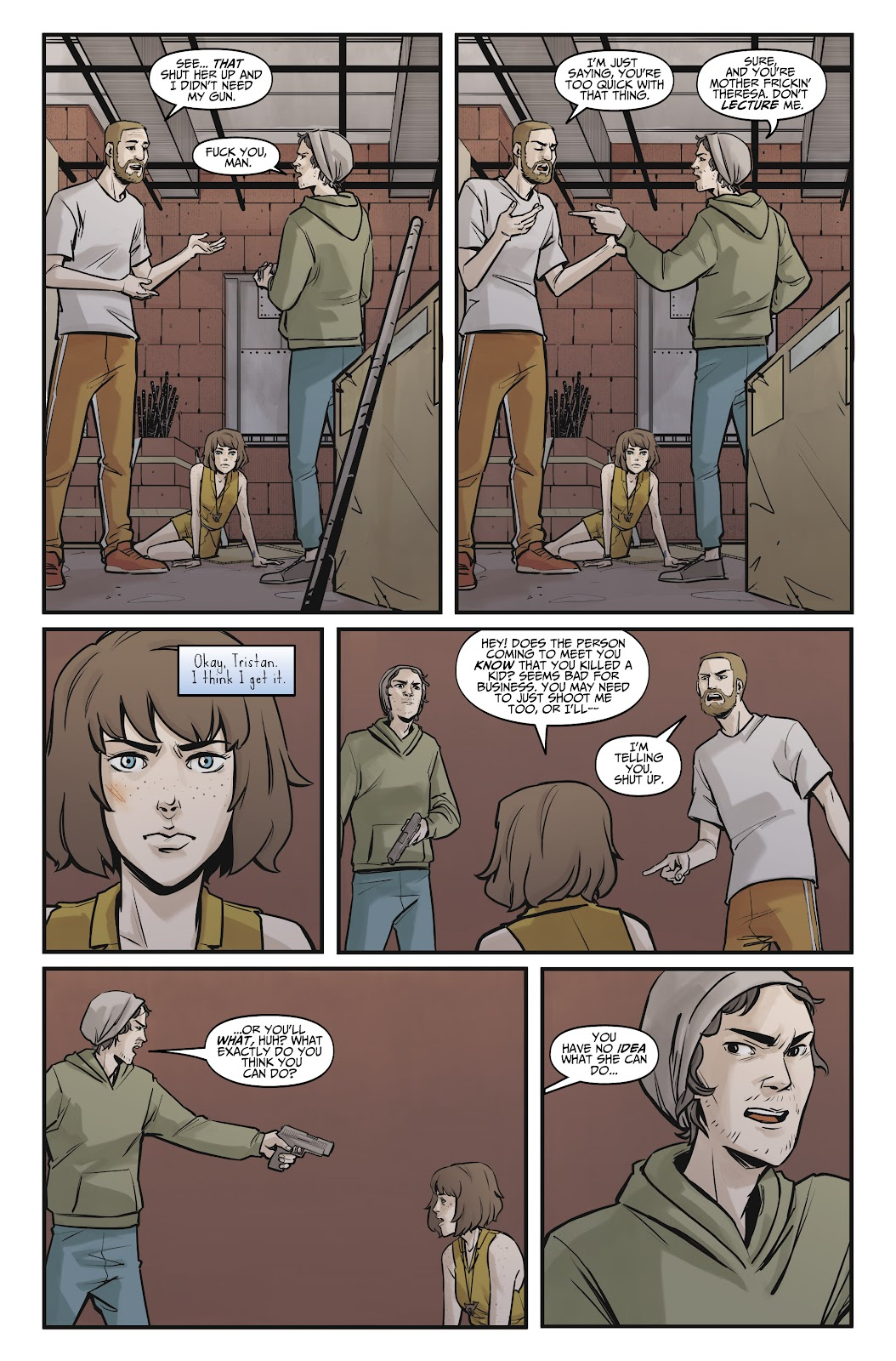 Read online Life is Strange comic -  Issue #8 - 22