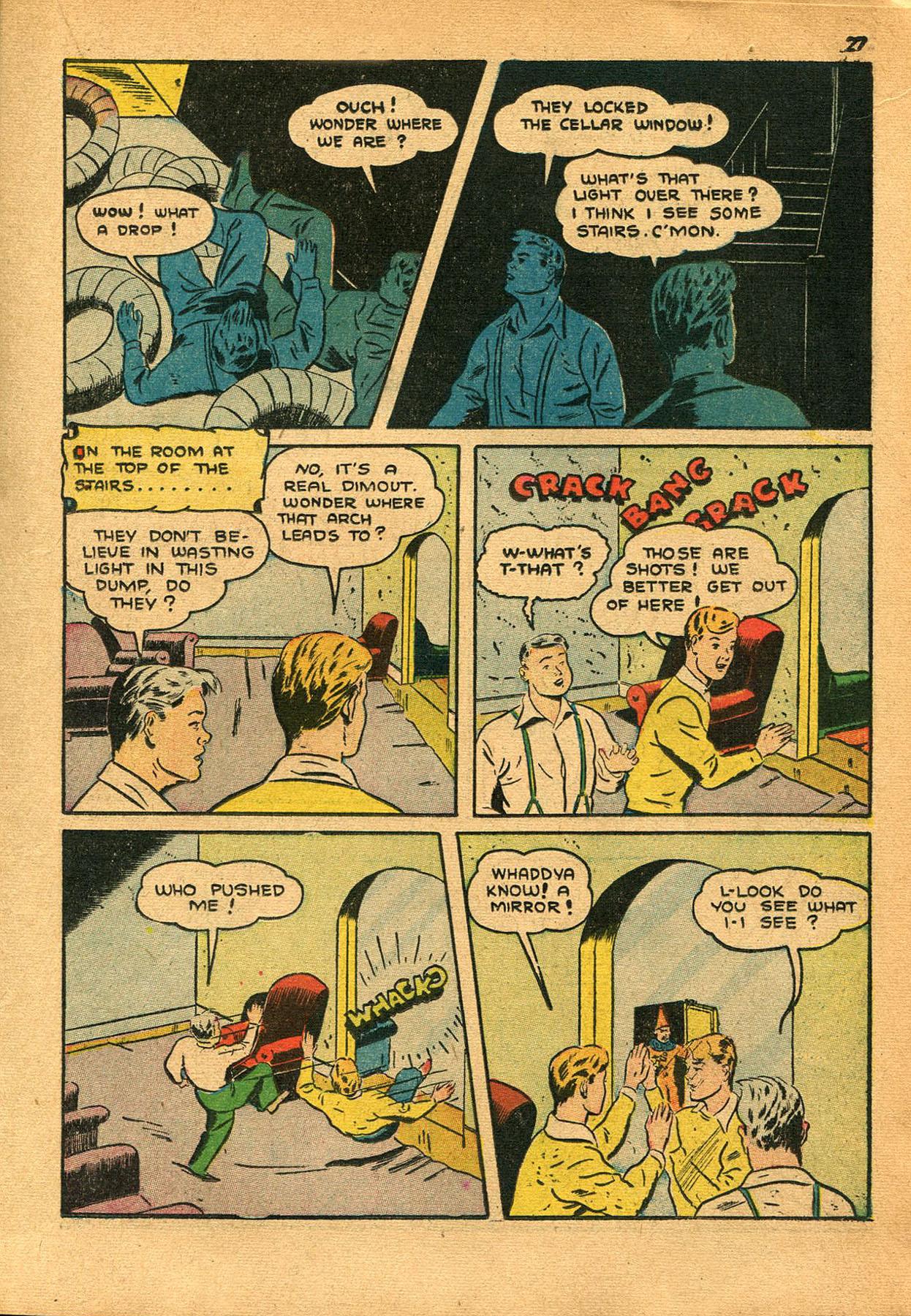 Read online Shadow Comics comic -  Issue #23 - 27