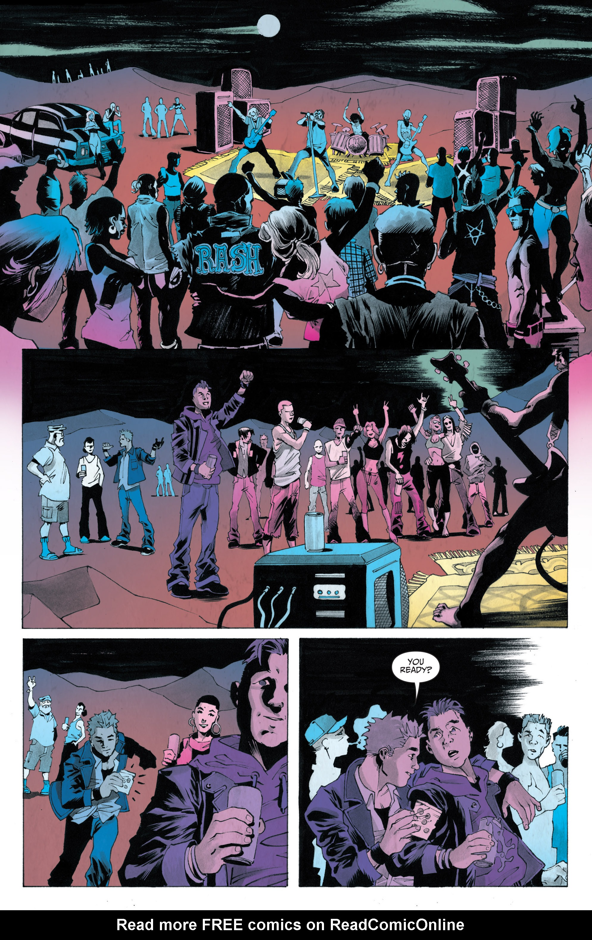 Read online Sons of Anarchy: Redwood Original comic -  Issue #4 - 5