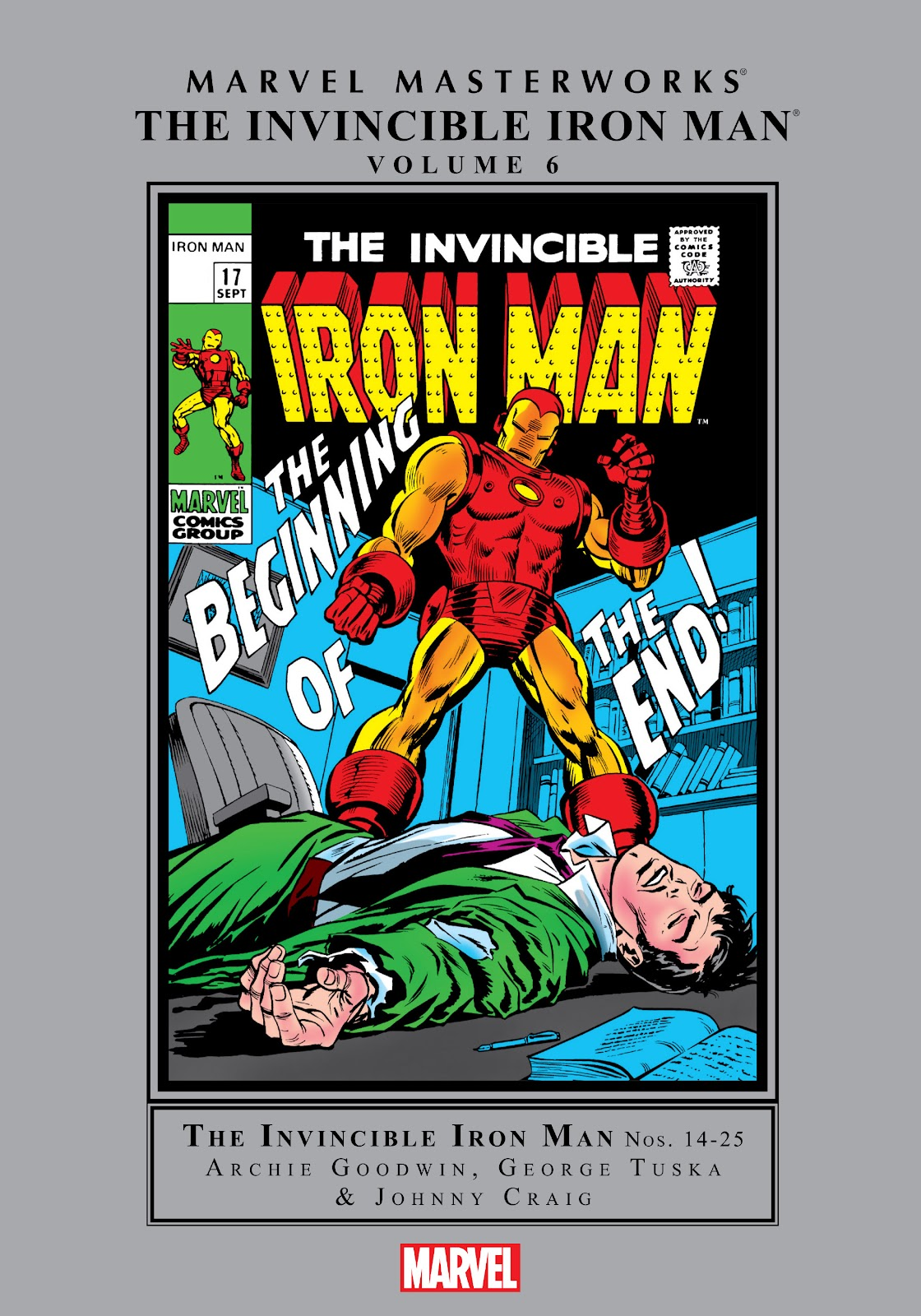 Read online Marvel Masterworks: The Invincible Iron Man comic -  Issue # TPB 6 (Part 1) - 1