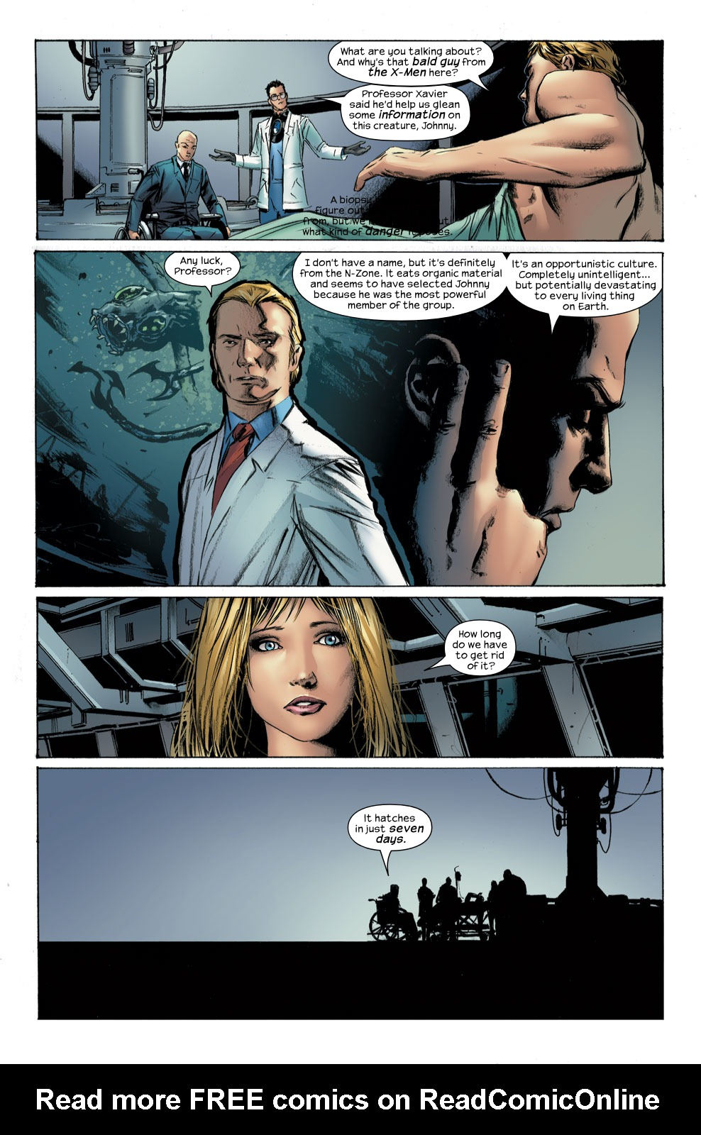 Read online Ultimate Fantastic Four (2004) comic -  Issue #30 - 15