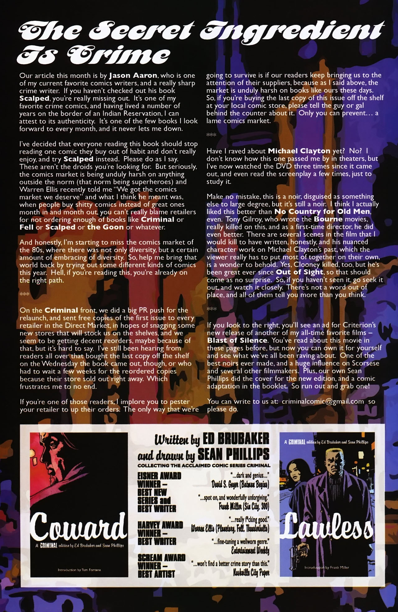 Read online Criminal (2008) comic -  Issue #2 - 33