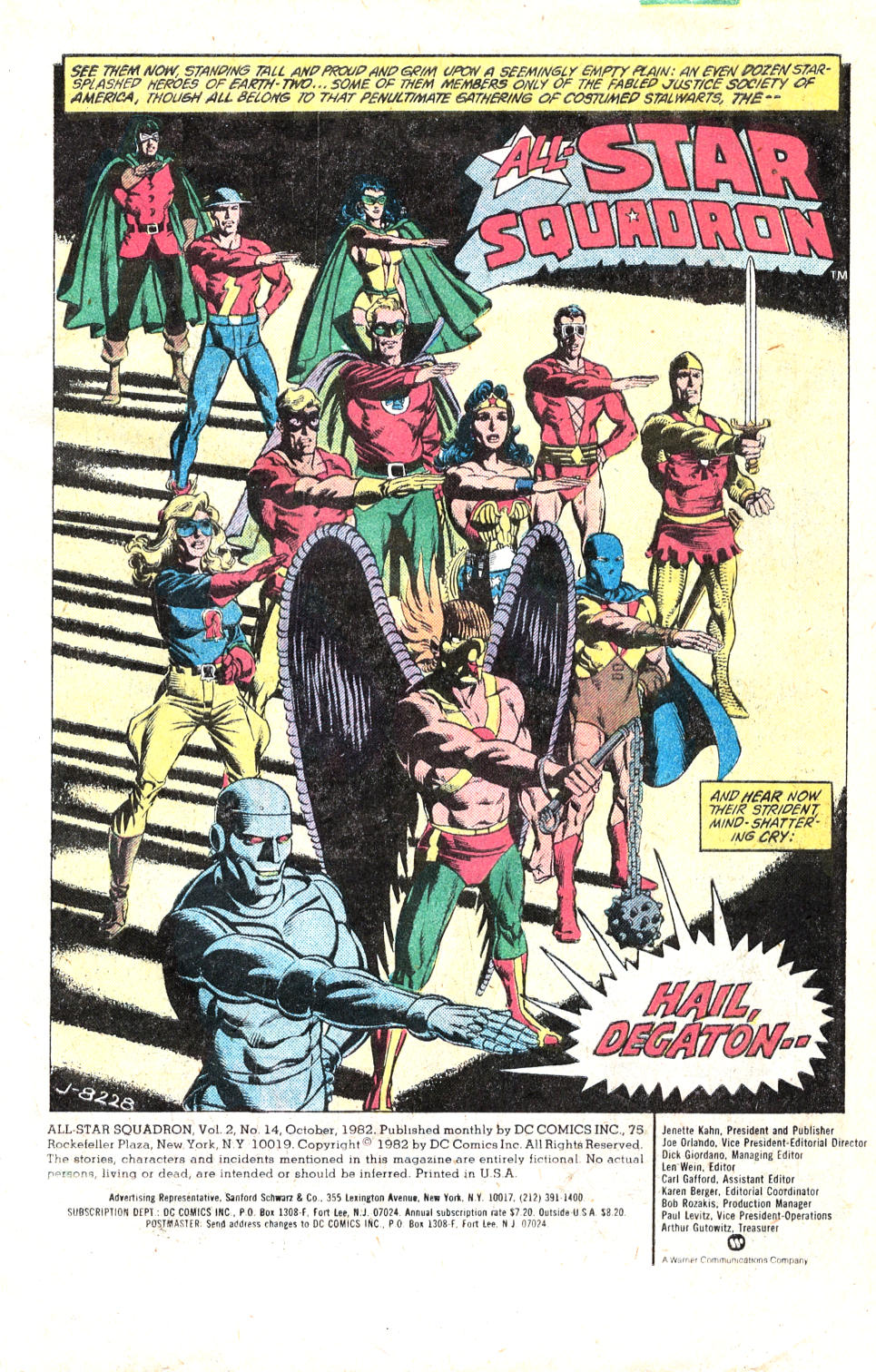 Read online All-Star Squadron comic -  Issue #14 - 3