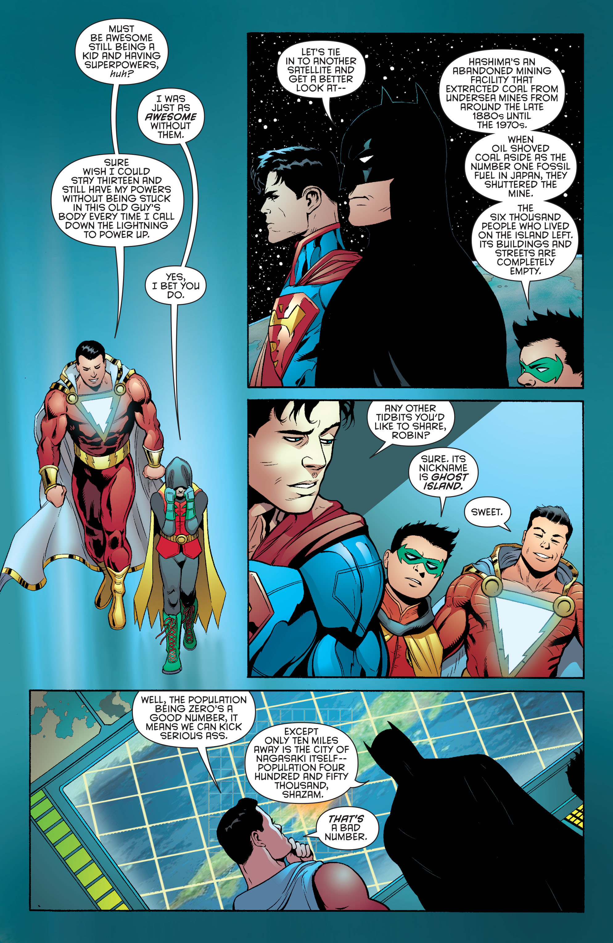 Read online Batman and Robin (2011) comic -  Issue #39 - 19