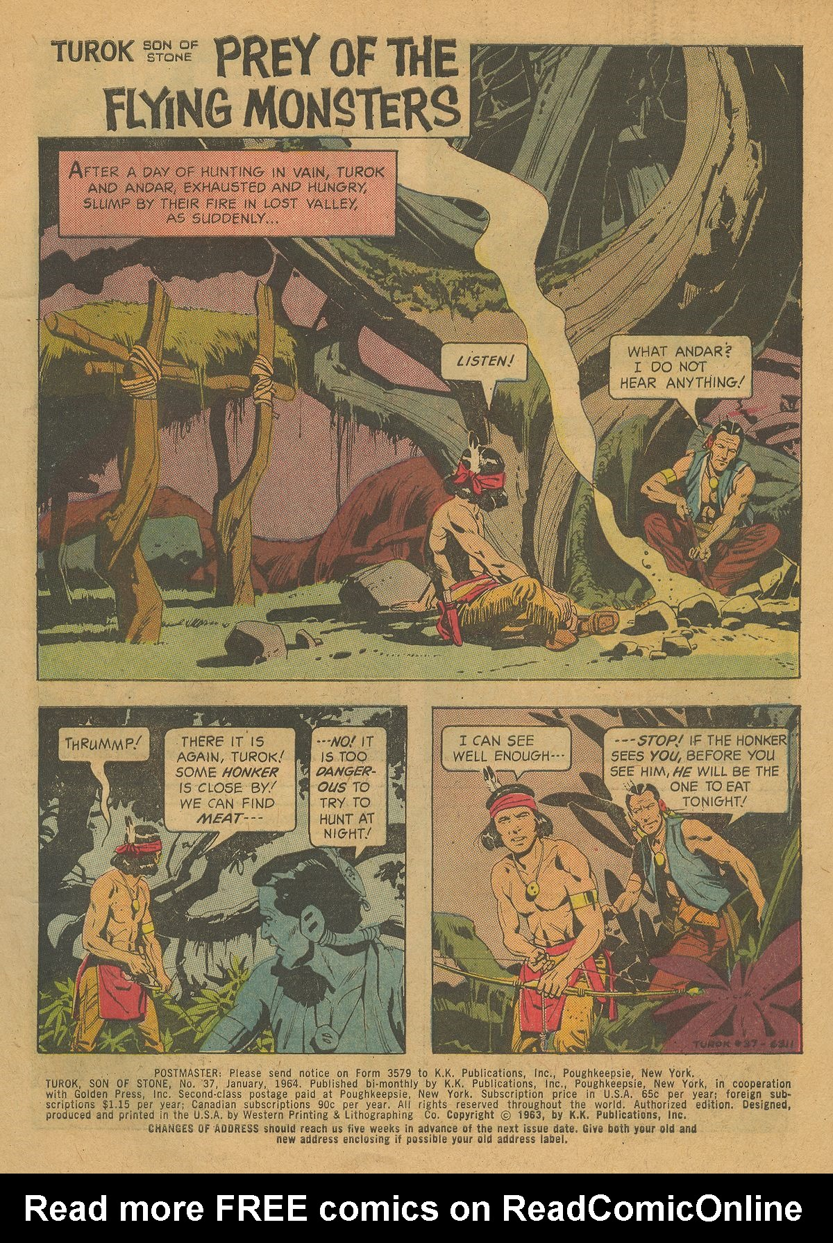 Read online Turok, Son of Stone comic -  Issue #37 - 3