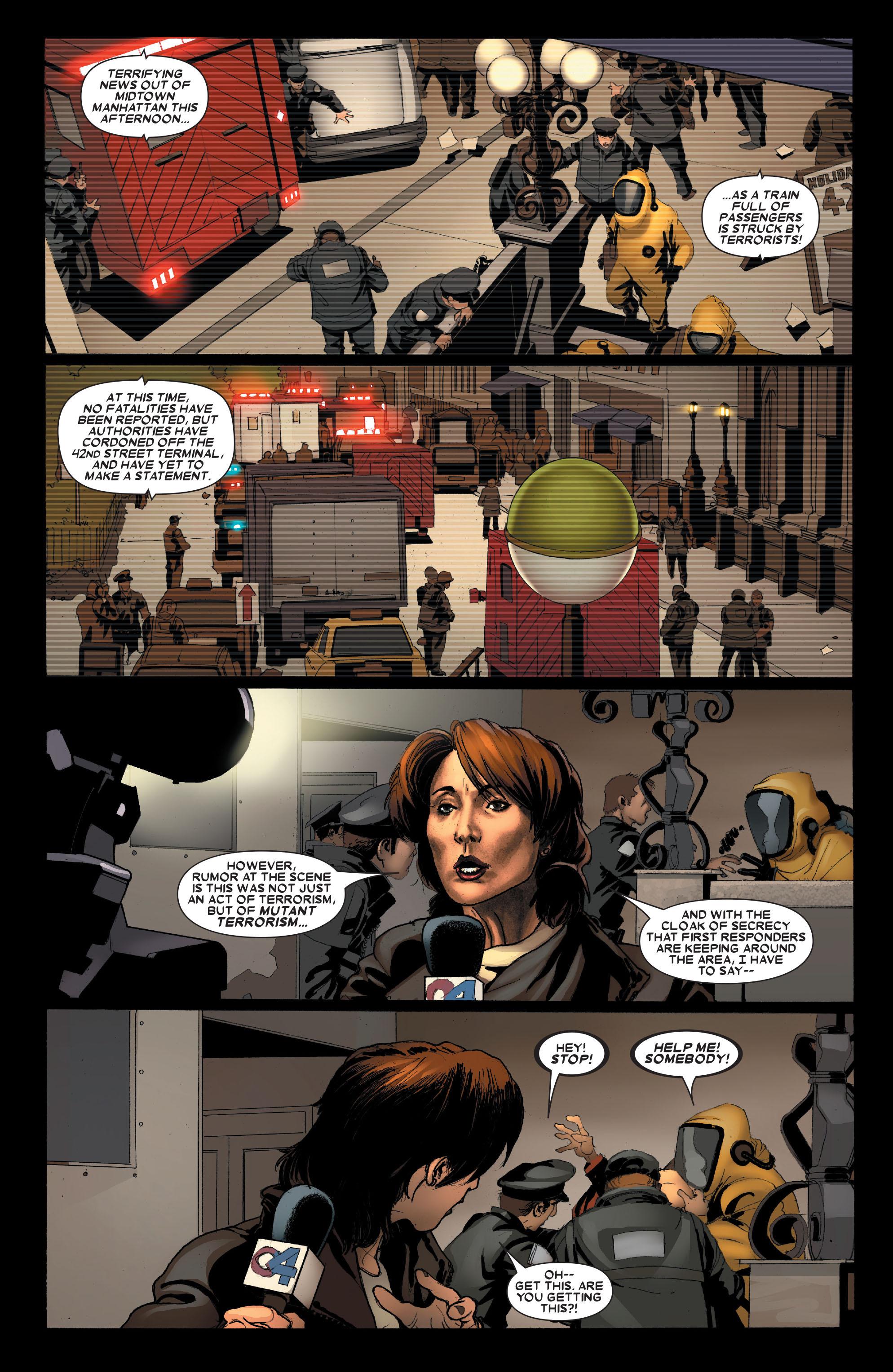 Read online Uncanny X-Men (1963) comic -  Issue #489 - 3