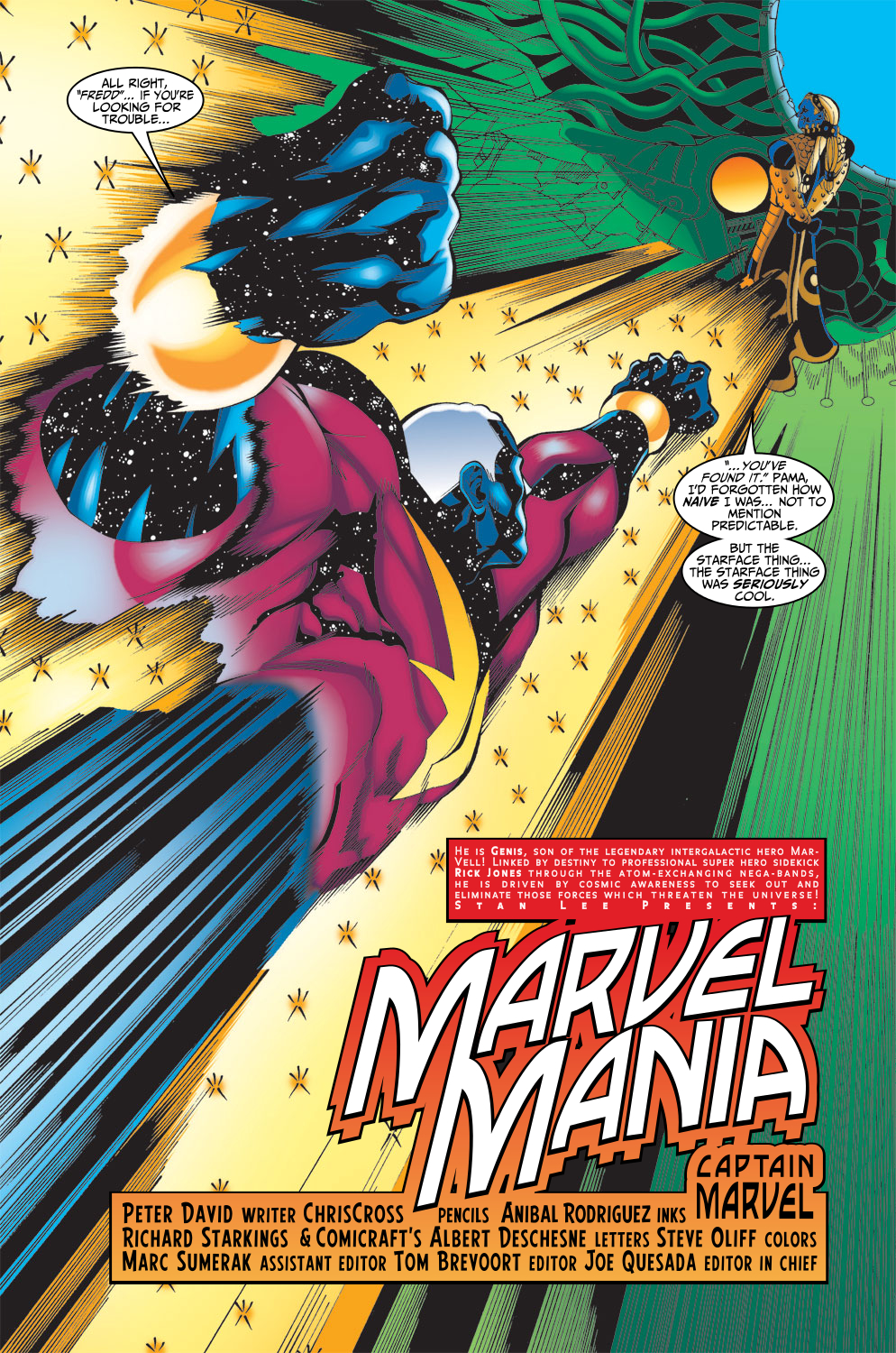 Captain Marvel (1999) Issue #16 #17 - English 6