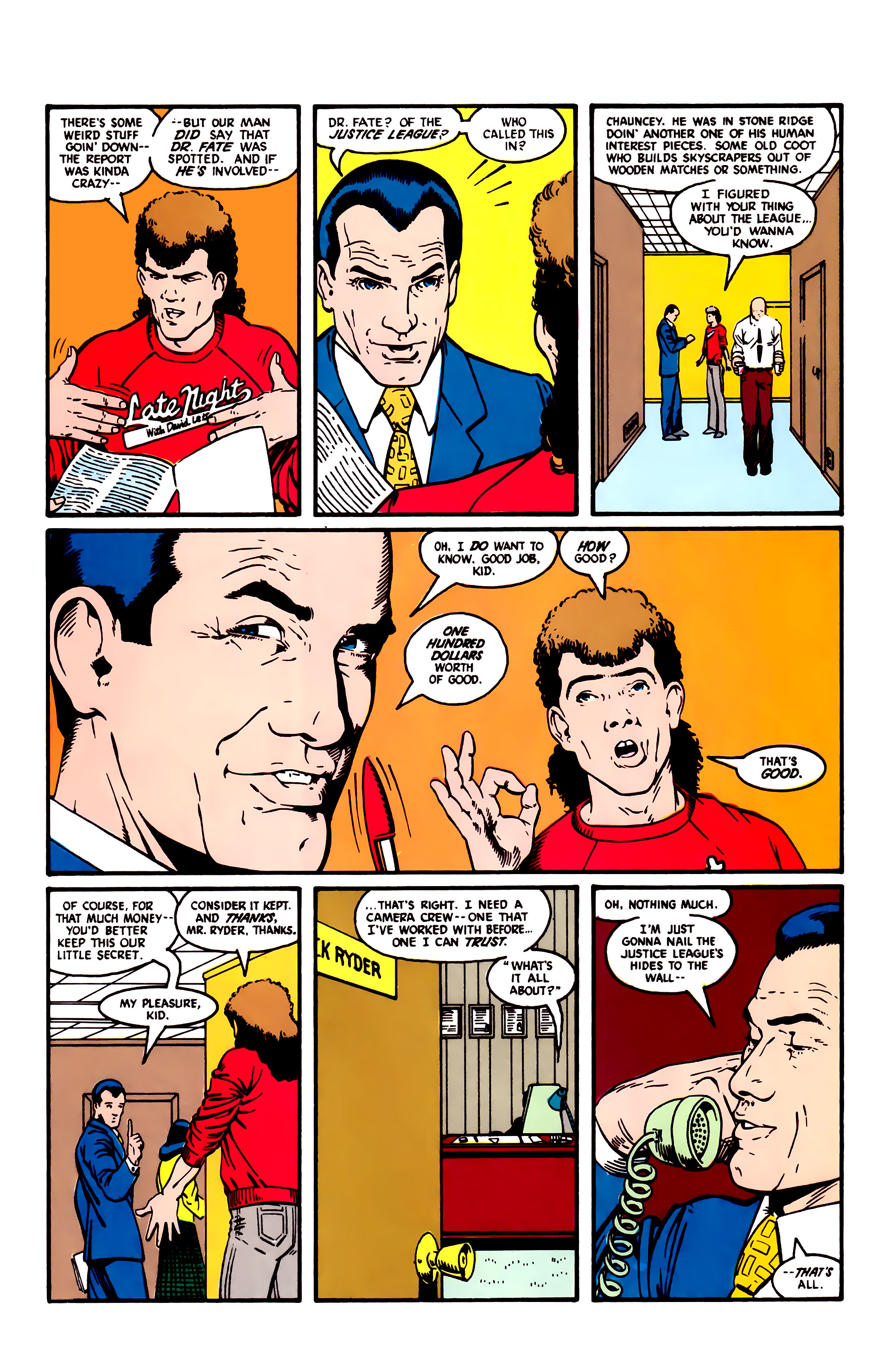Read online Justice League (1987) comic -  Issue #5 - 6