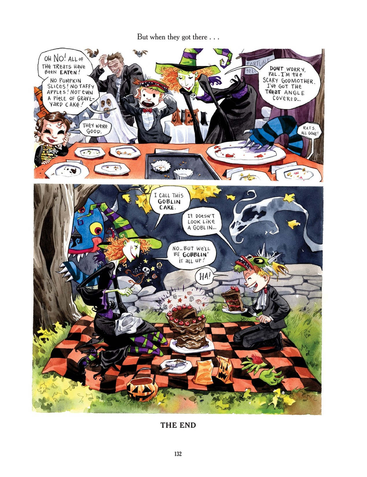 Read online Scary Godmother comic -  Issue # TPB - 132
