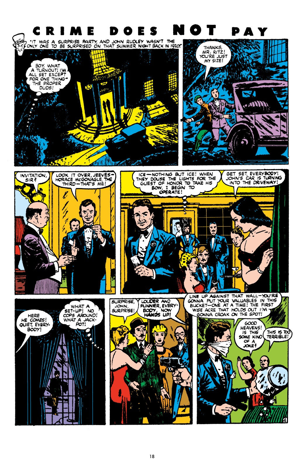 Read online Crime Does Not Pay Archives comic -  Issue # TPB 9 (Part 1) - 20
