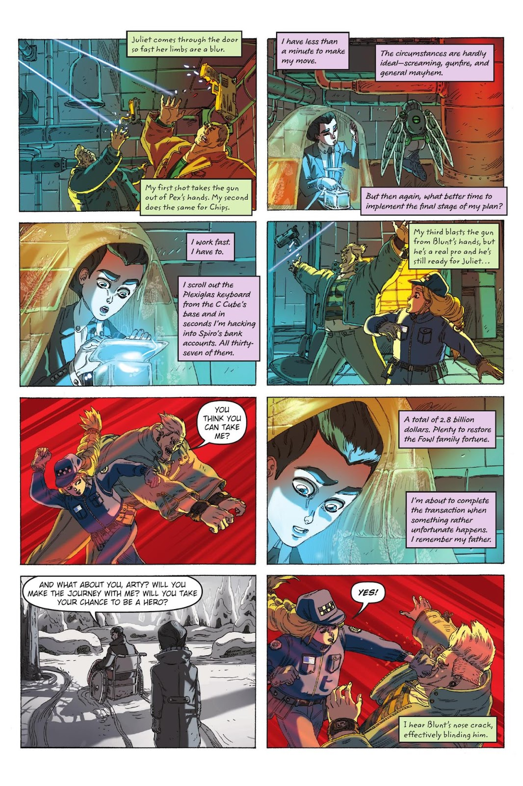 Artemis Fowl: The Eternity Code issue TPB - Page 101
