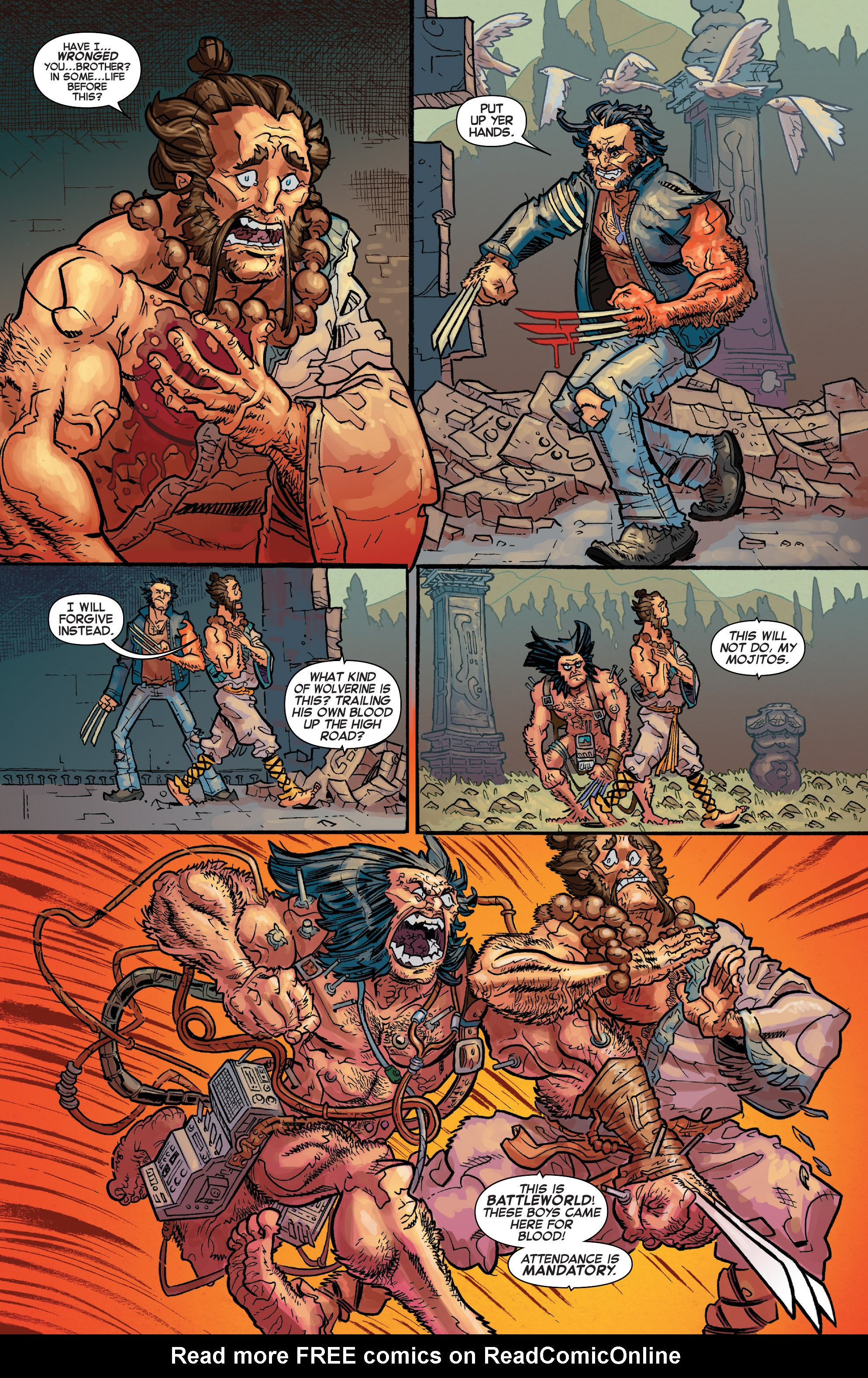Read online Secret Wars Journal/Battleworld comic -  Issue # TPB - 173