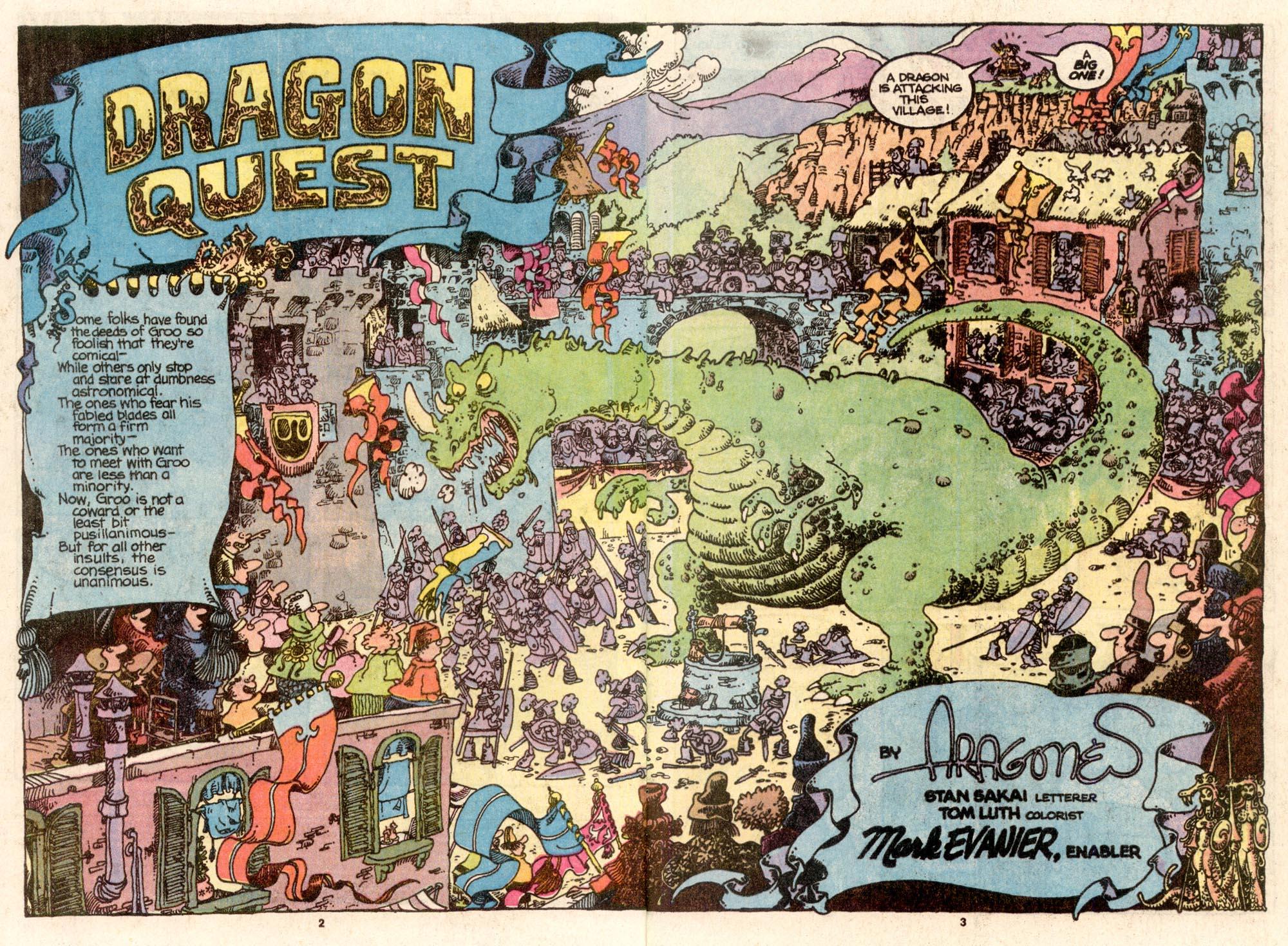 Read online Sergio Aragonés Groo the Wanderer comic -  Issue #67 - 3