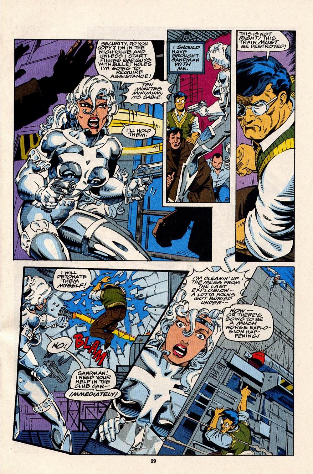 Read online Silver Sable and the Wild Pack comic -  Issue #32 - 22
