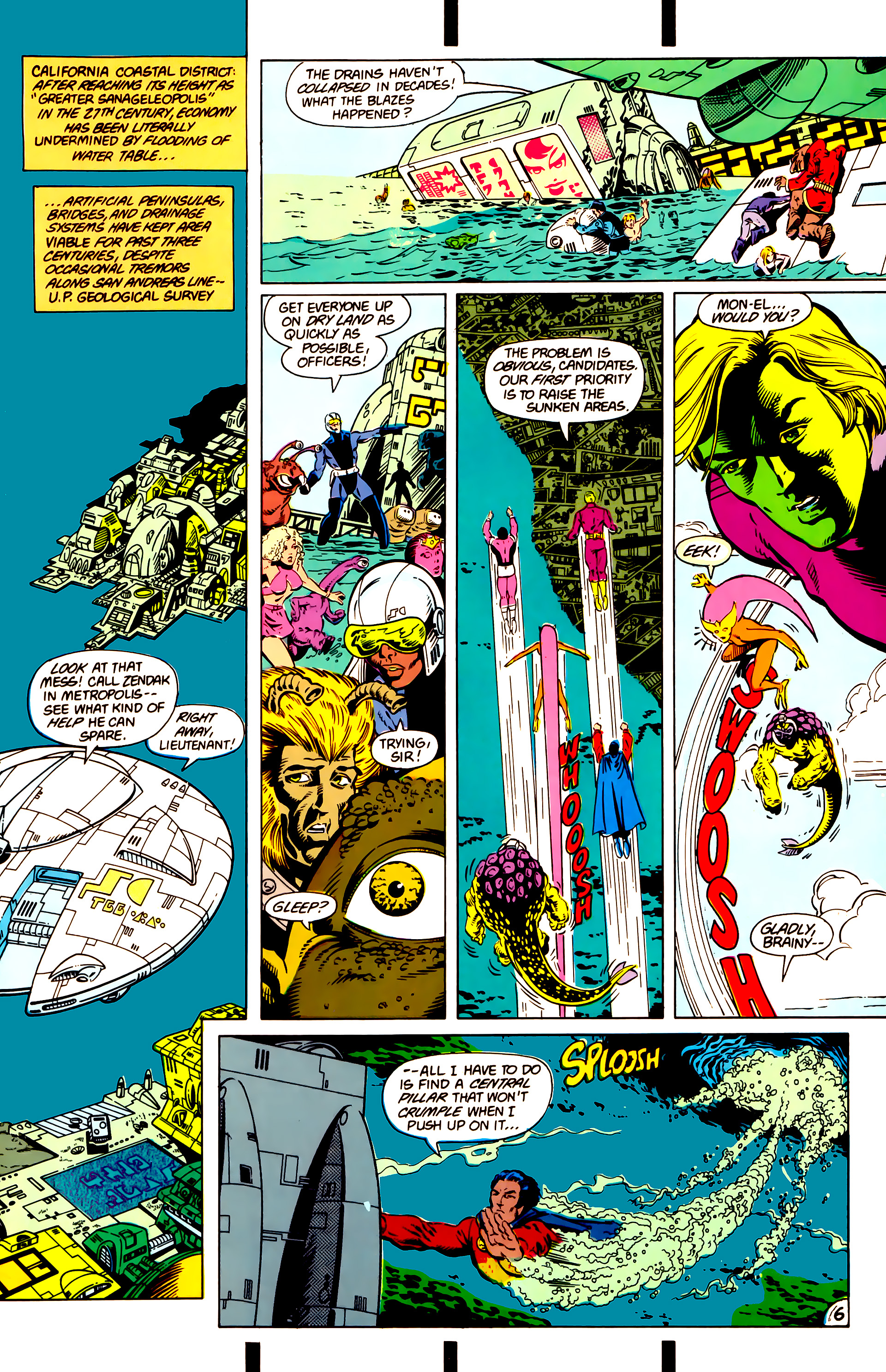 Legion of Super-Heroes (1984) 14 Page 7