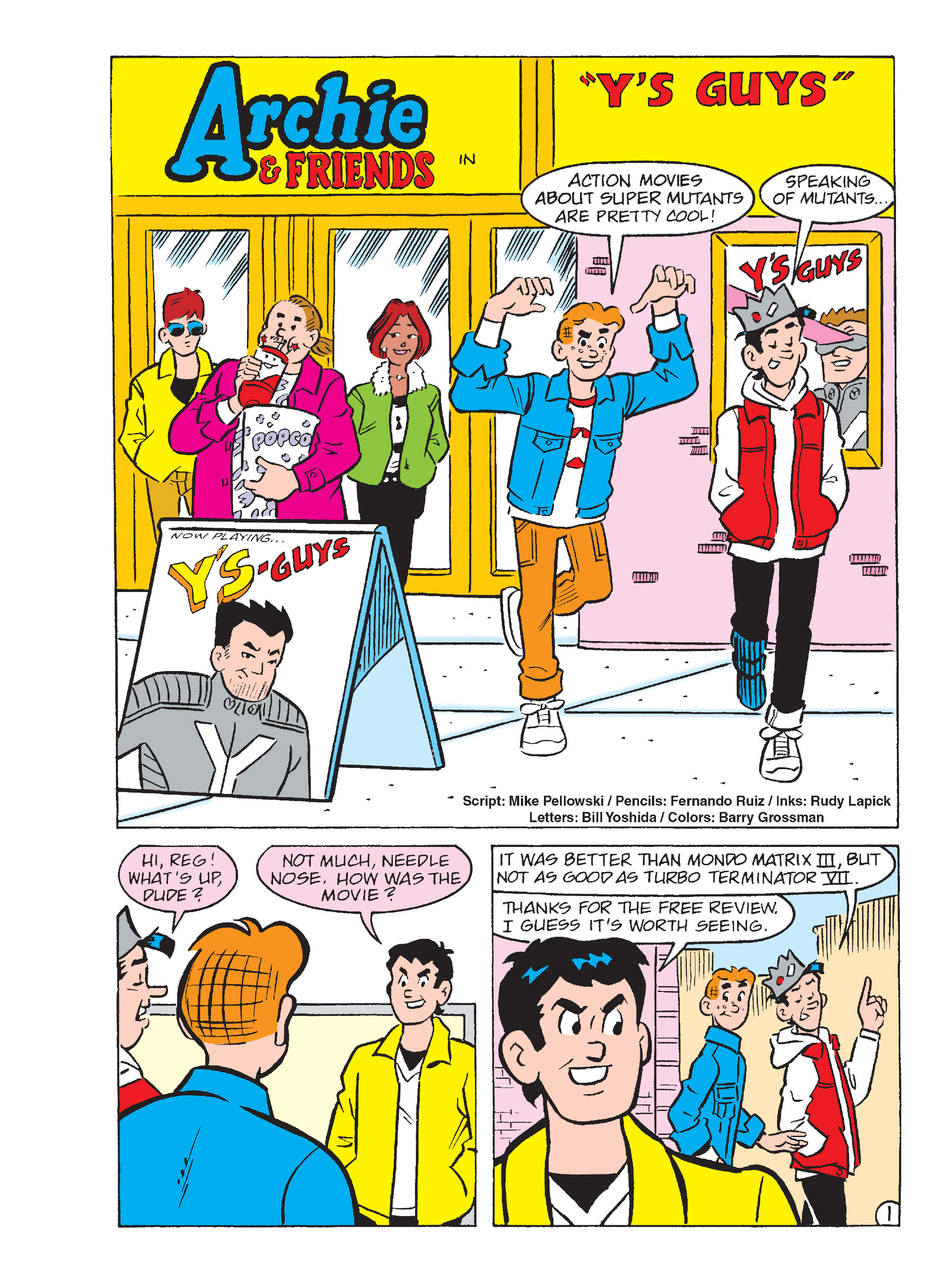 Read online Archie's Funhouse Double Digest comic -  Issue #13 - 147