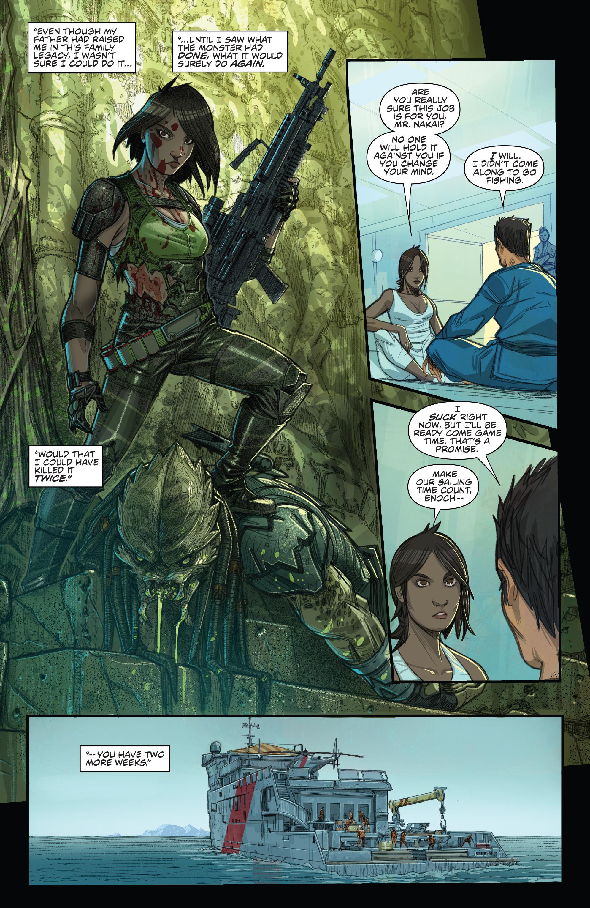 Read online Predator: Hunters comic -  Issue #2 - 20