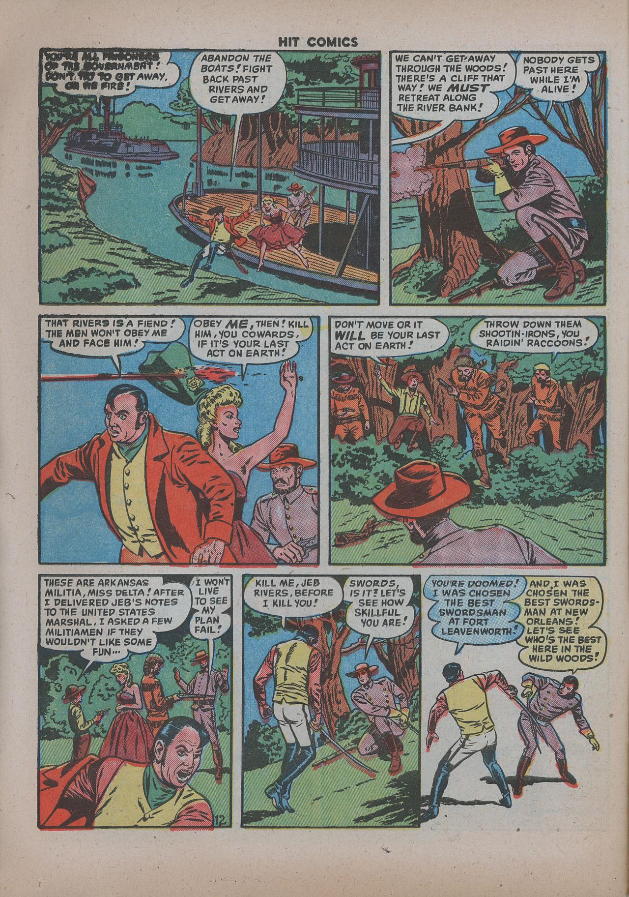 Read online Hit Comics comic -  Issue #62 - 15