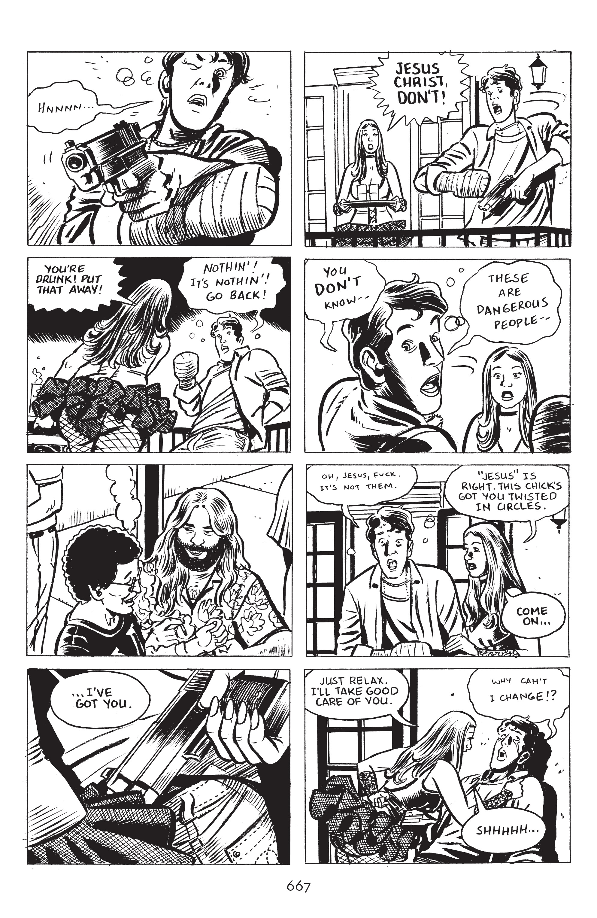 Read online Stray Bullets: Sunshine & Roses comic -  Issue #24 - 22