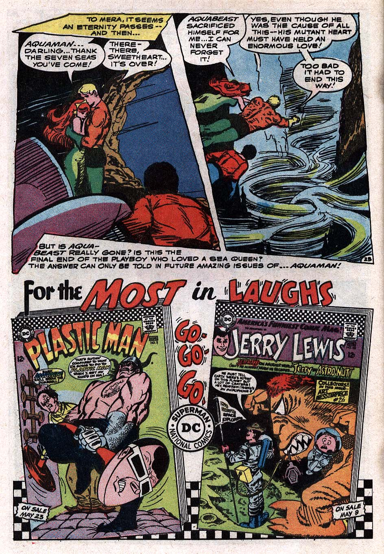 Read online Aquaman (1962) comic -  Issue #34 - 32