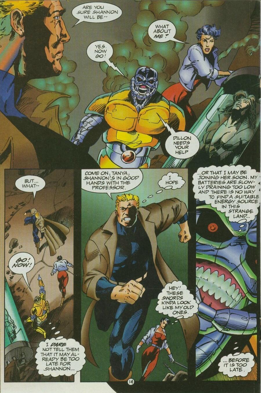 Read online Ex-Mutants comic -  Issue #12 - 17