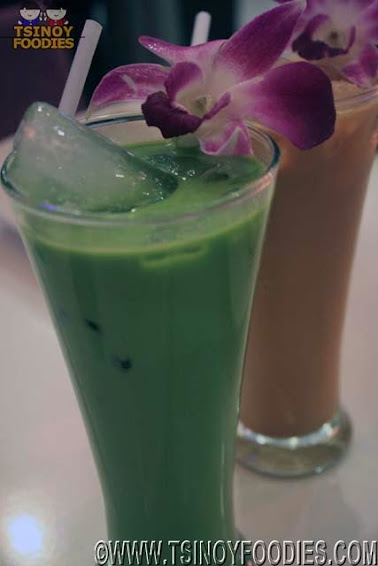 thai green milk tea