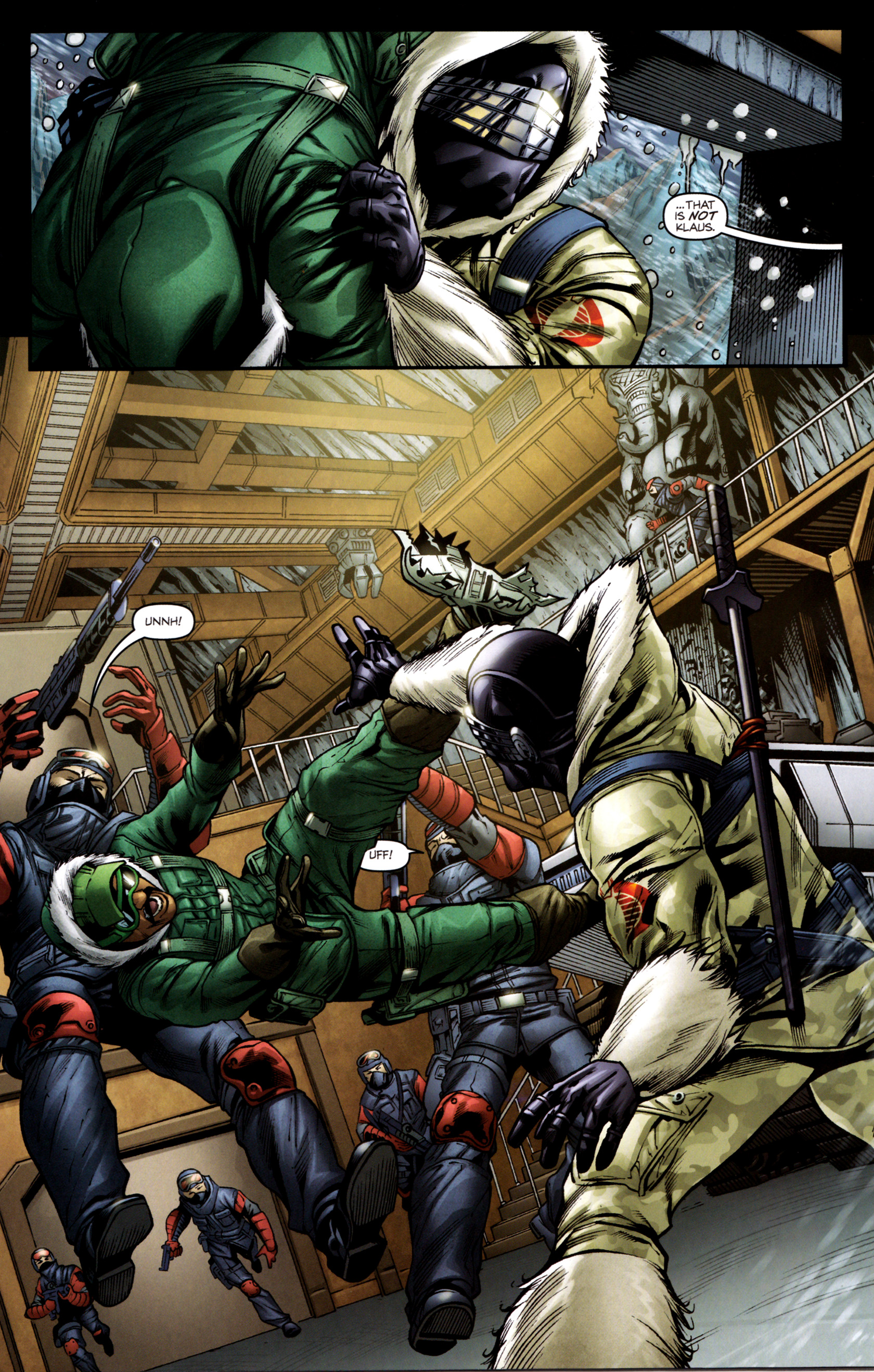 Read online G.I. Joe: Snake Eyes comic -  Issue #2 - 6