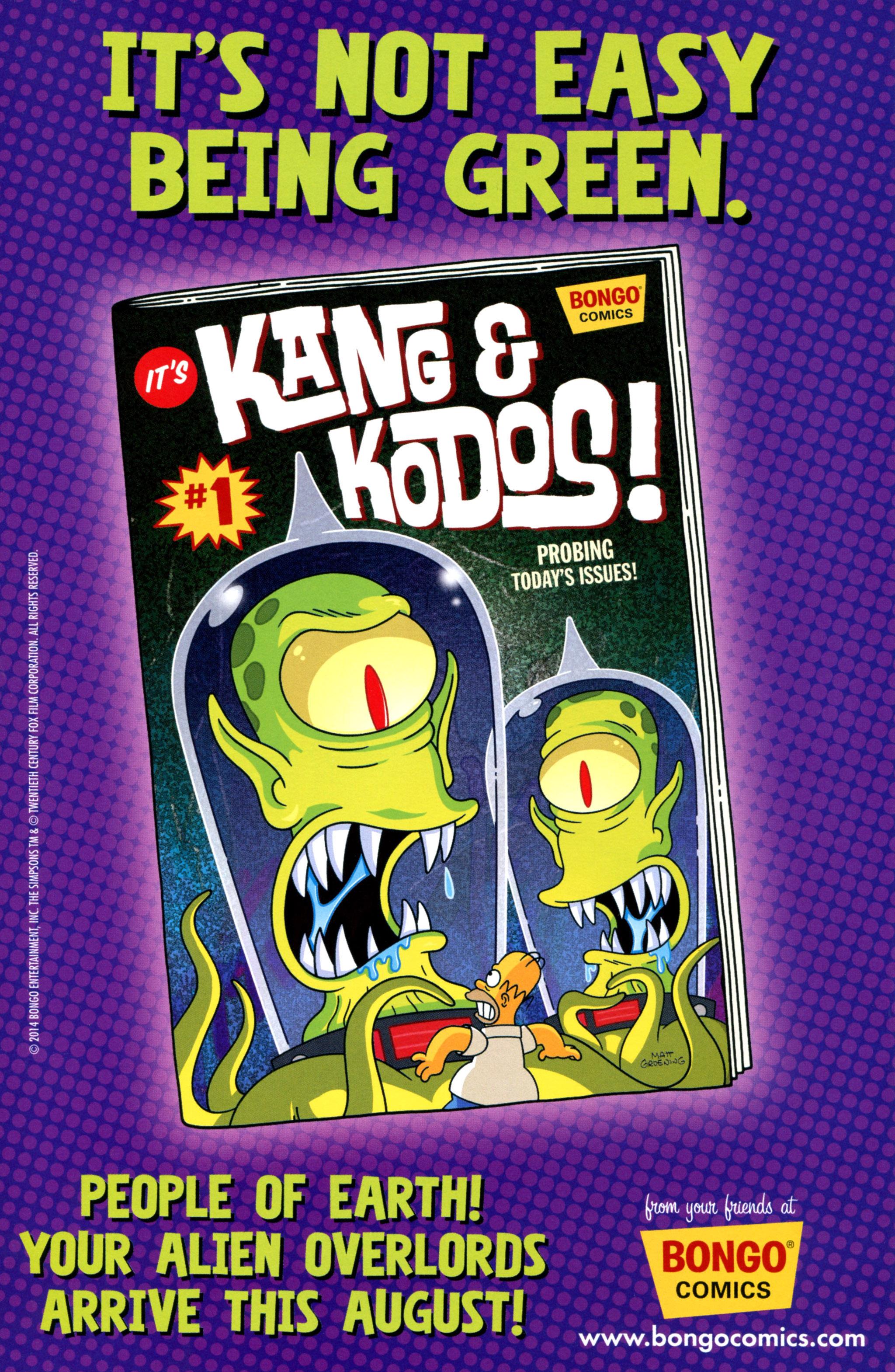 Read online Simpsons Comics comic -  Issue #213 - 26