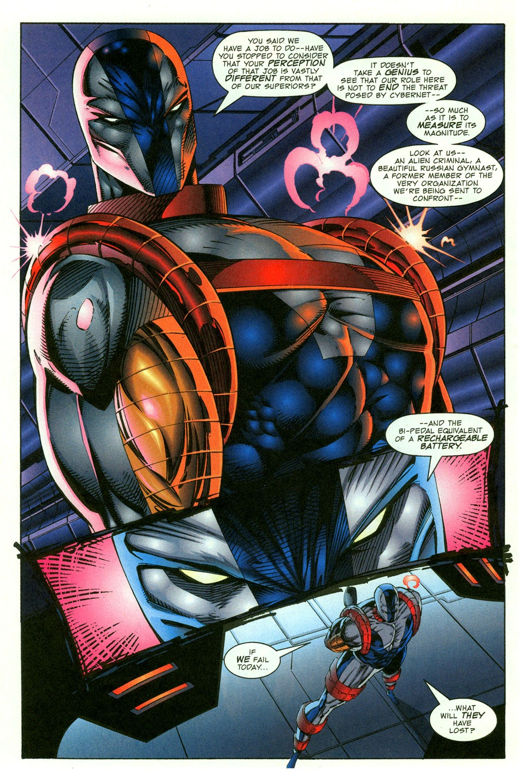 Read online Youngblood GT Interactive Ultra Game Players Special Edition comic -  Issue # Full - 6