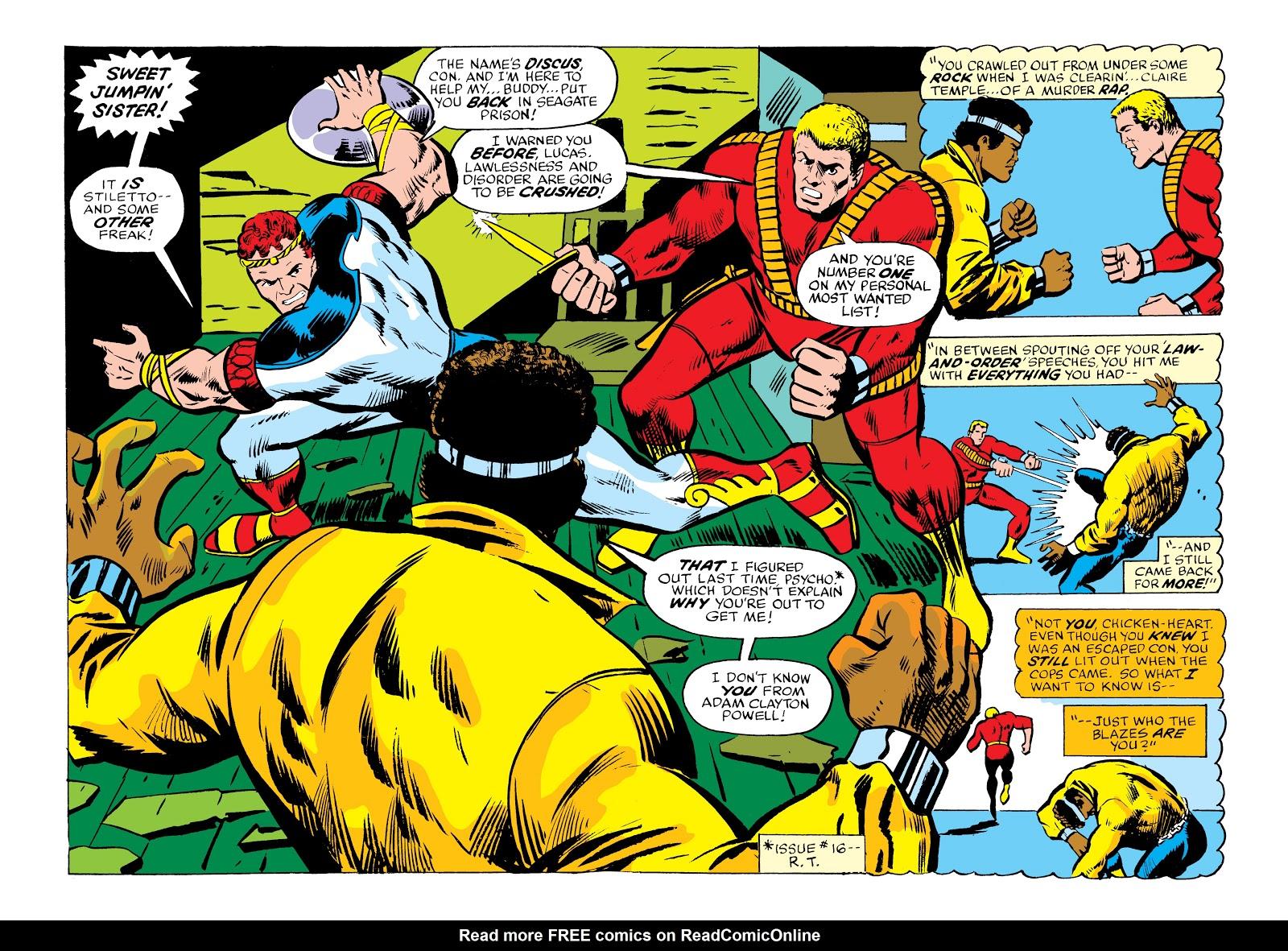 Read online Marvel Masterworks: Luke Cage, Power Man comic -  Issue # TPB 2 (Part 2) - 12