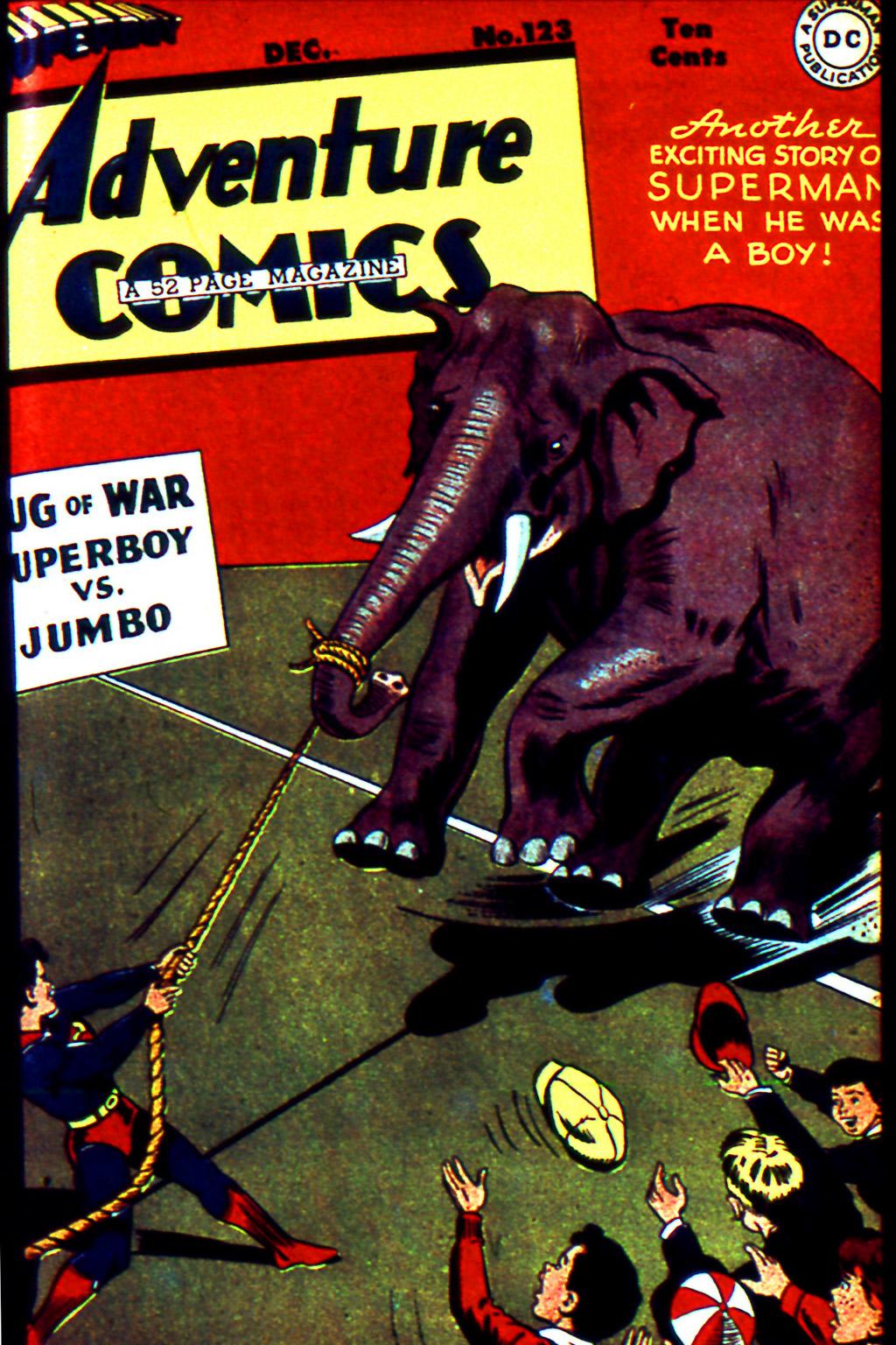 Read online Adventure Comics (1938) comic -  Issue #123 - 1
