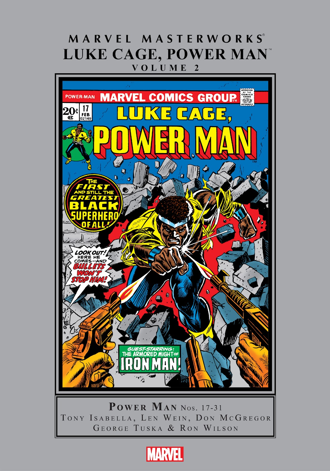 Read online Marvel Masterworks: Luke Cage, Power Man comic -  Issue # TPB 2 (Part 1) - 1