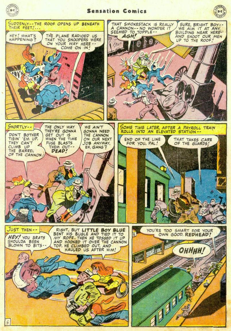 Read online Sensation (Mystery) Comics comic -  Issue #75 - 20