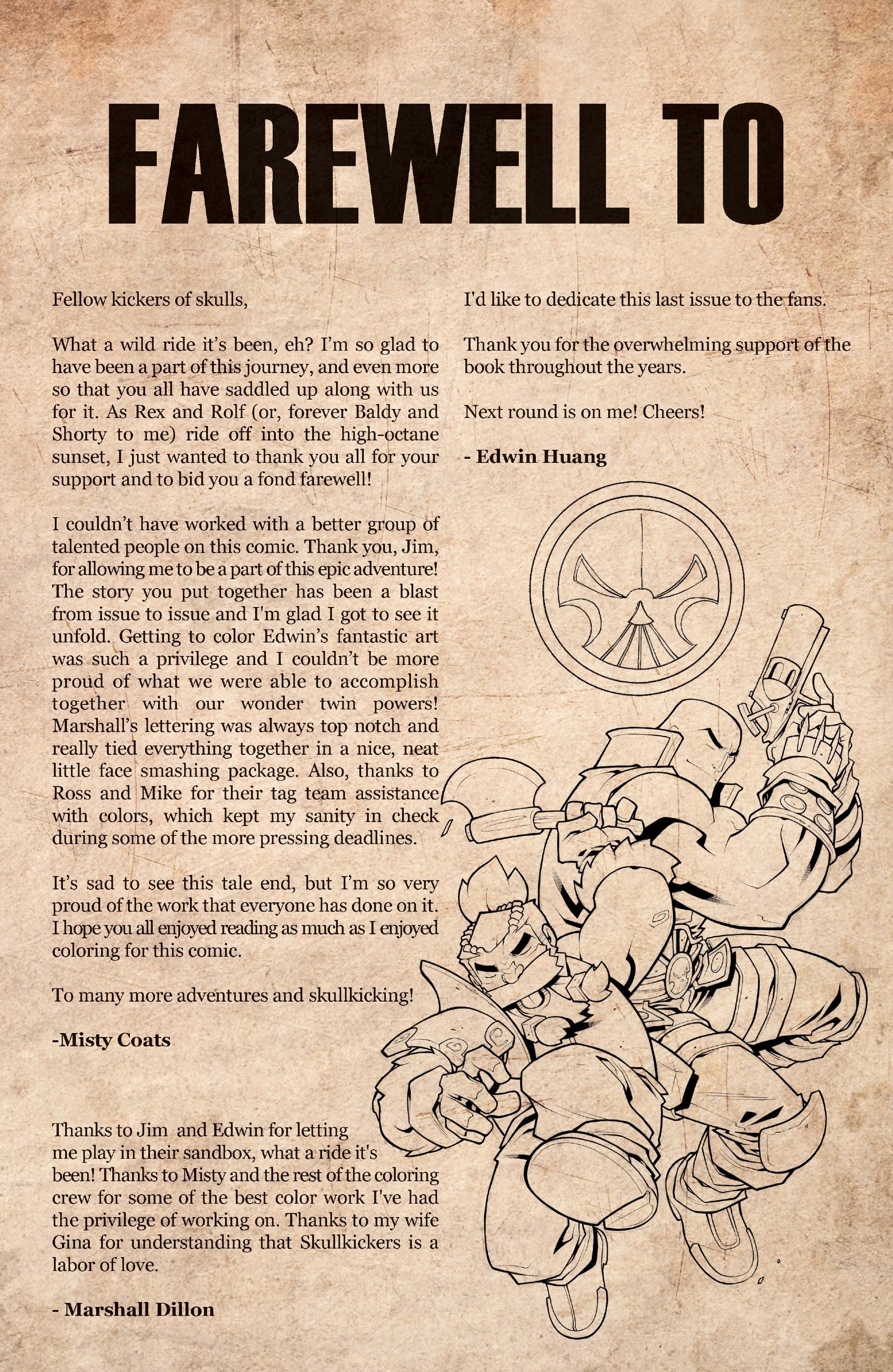 Read online Skullkickers comic -  Issue #100 - 22