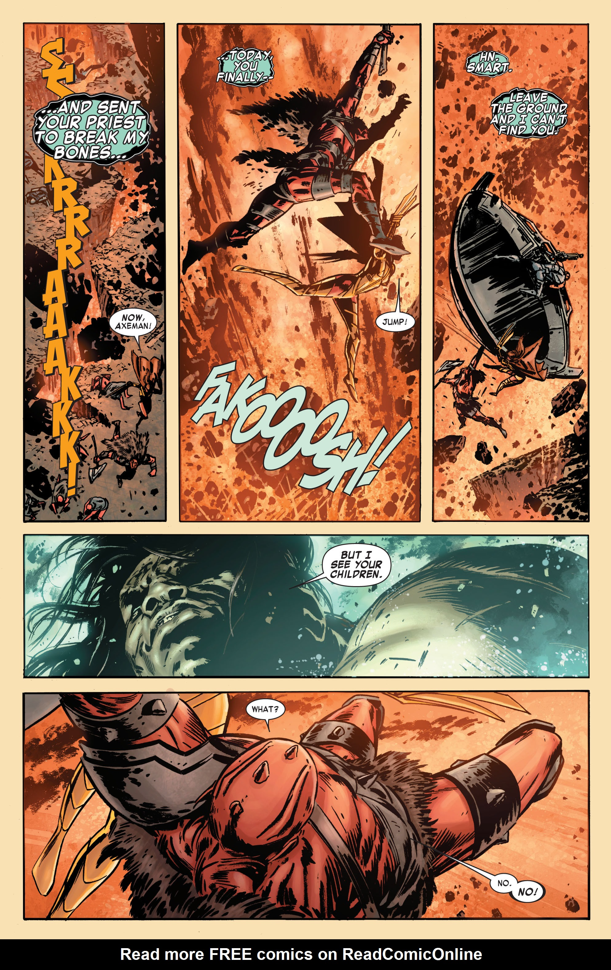 Read online Skaar: Son of Hulk comic -  Issue #7 - 10