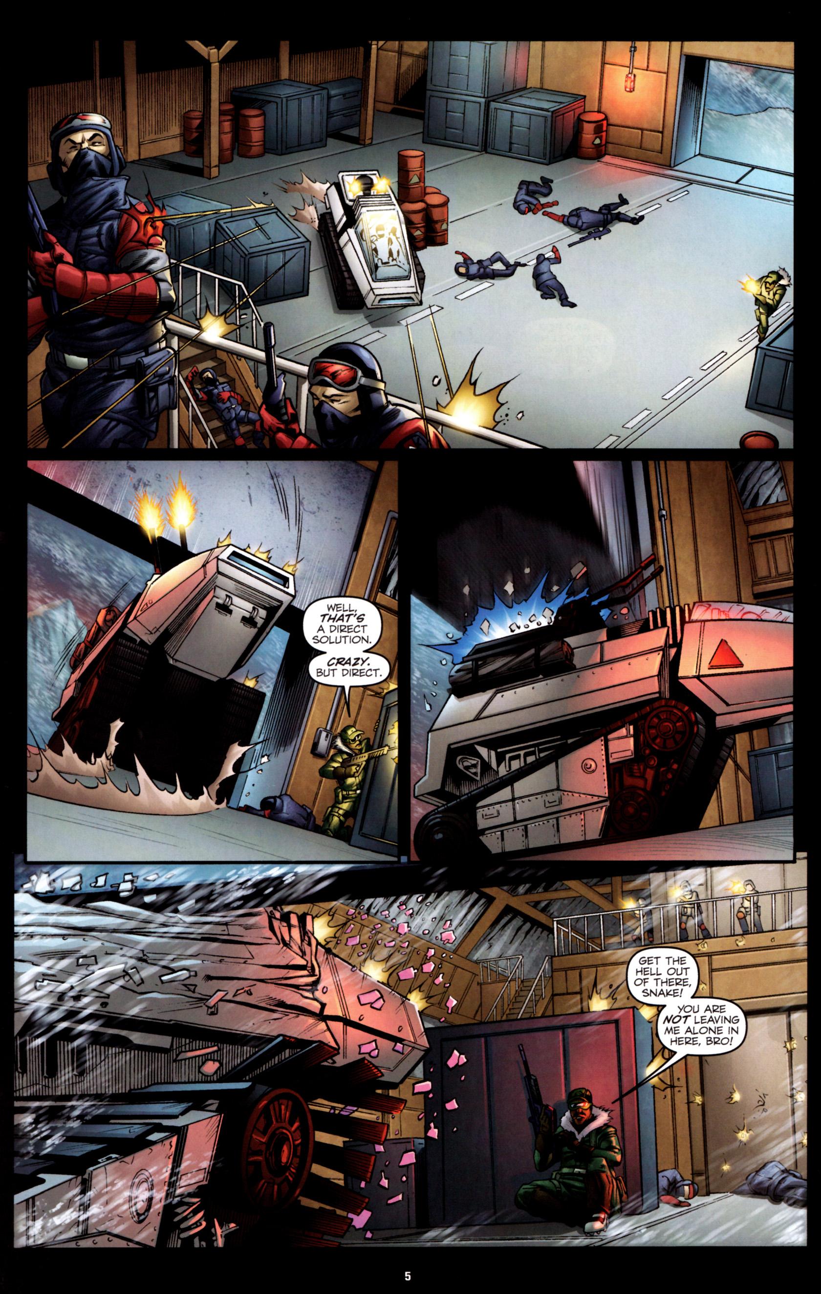 Read online G.I. Joe: Snake Eyes comic -  Issue #2 - 8