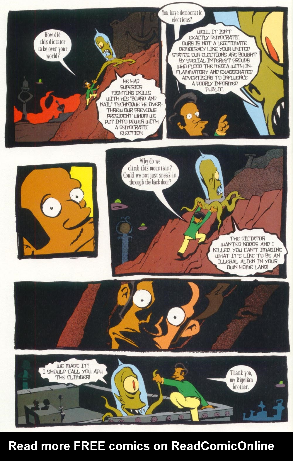 Read online Treehouse of Horror comic -  Issue #5 - 36